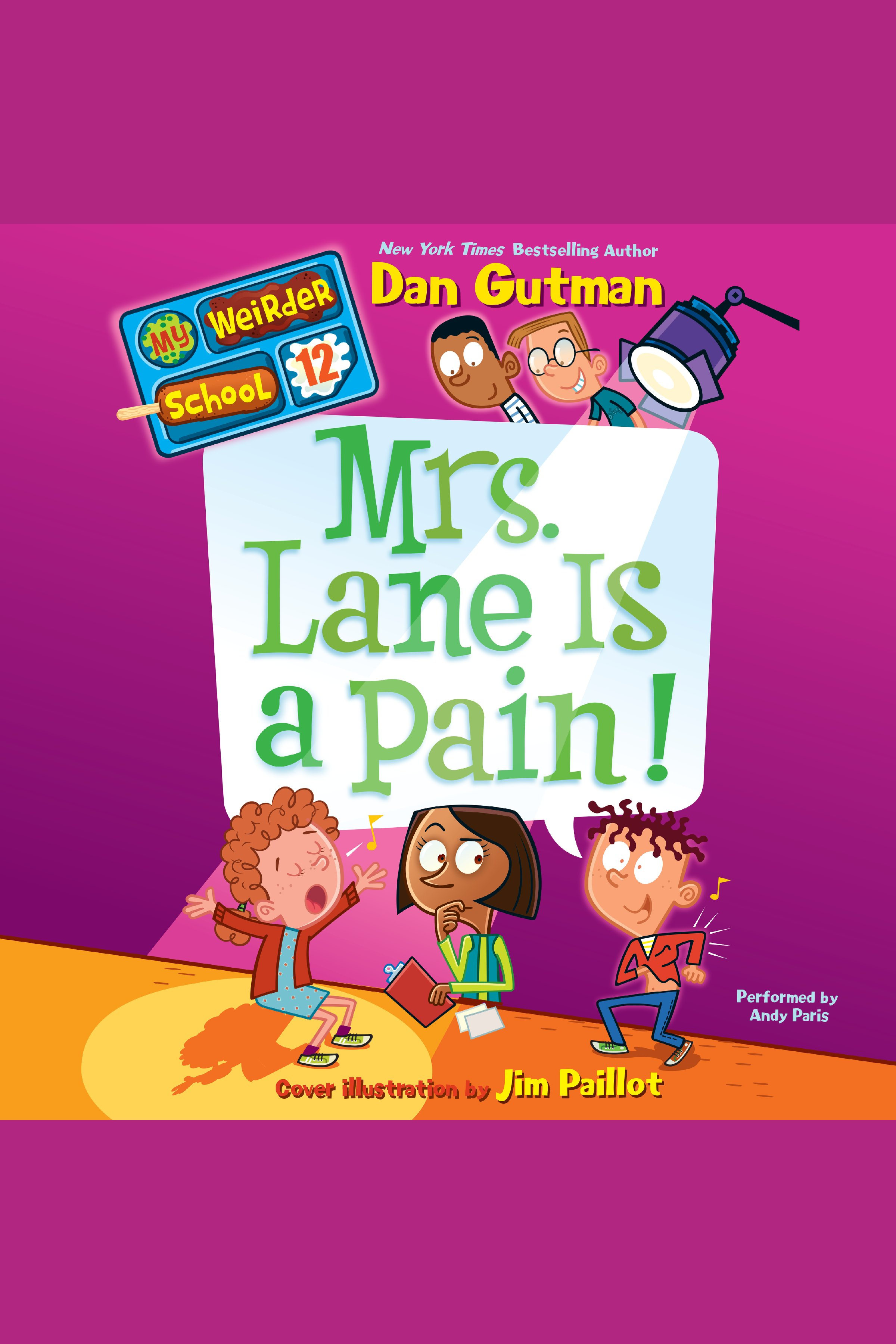 Mrs. Lane Is a Pain! cover image