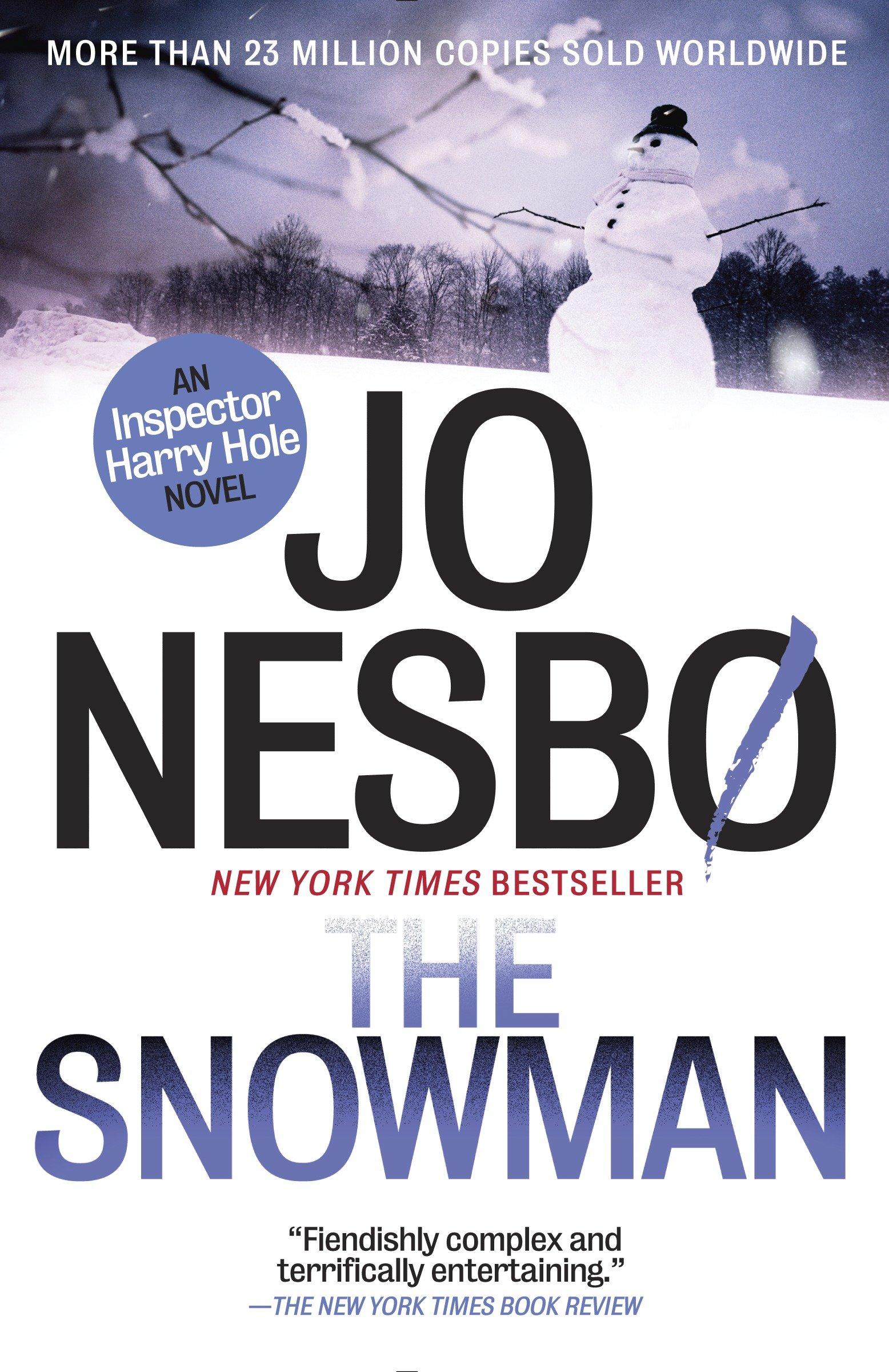The Snowman a Harry Hole novel cover image
