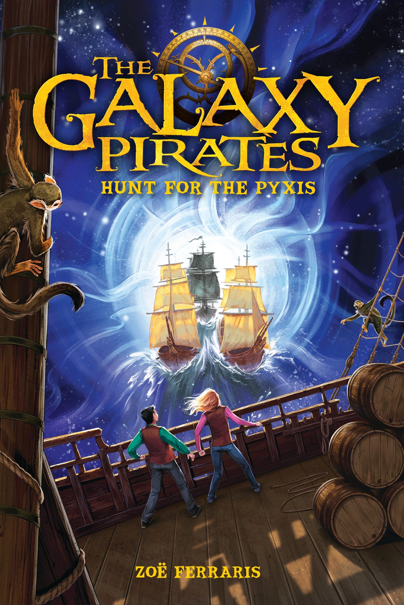 The galaxy pirates hunt for the Pyxis cover image