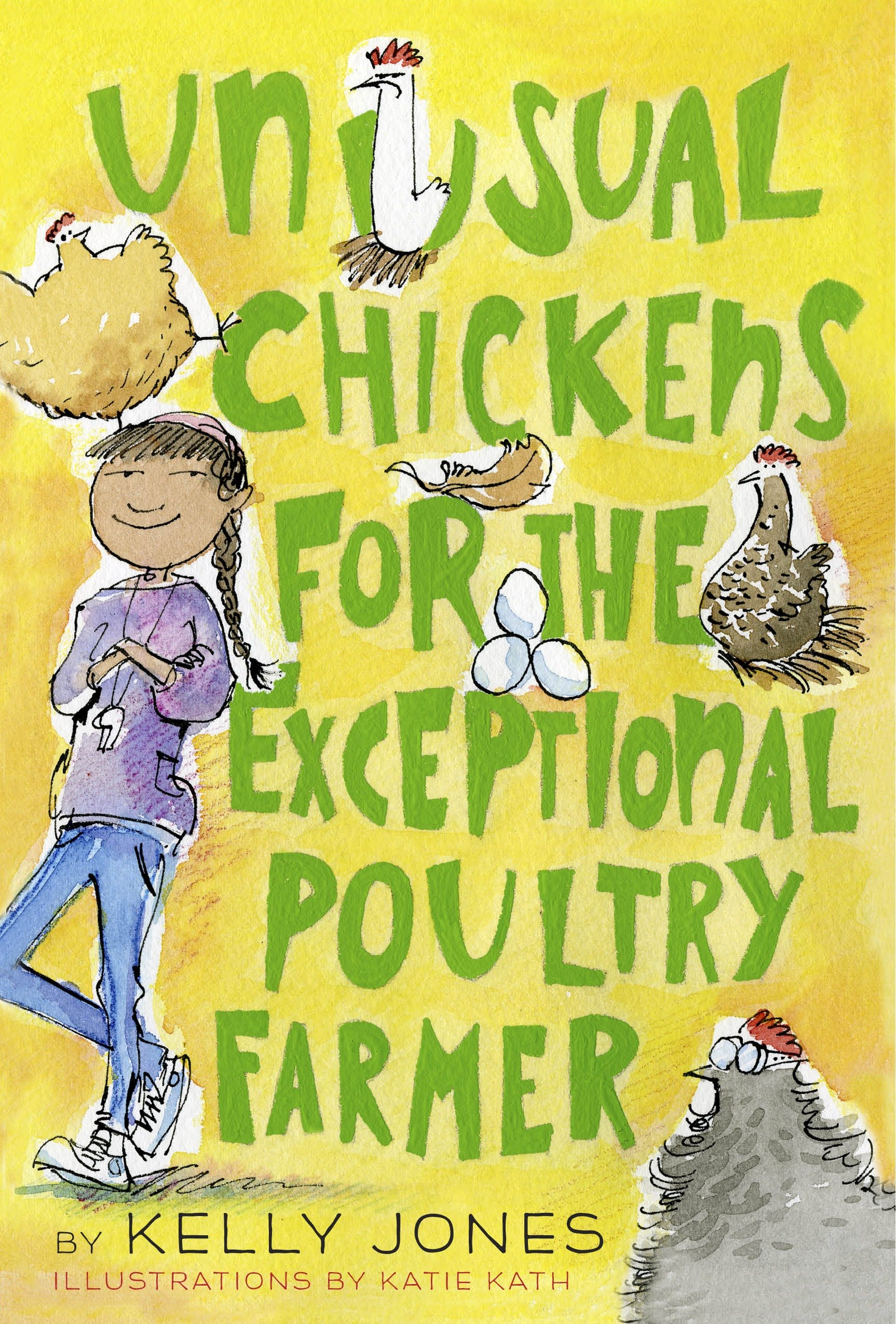 Unusual chickens for the exceptional poultry farmer cover image