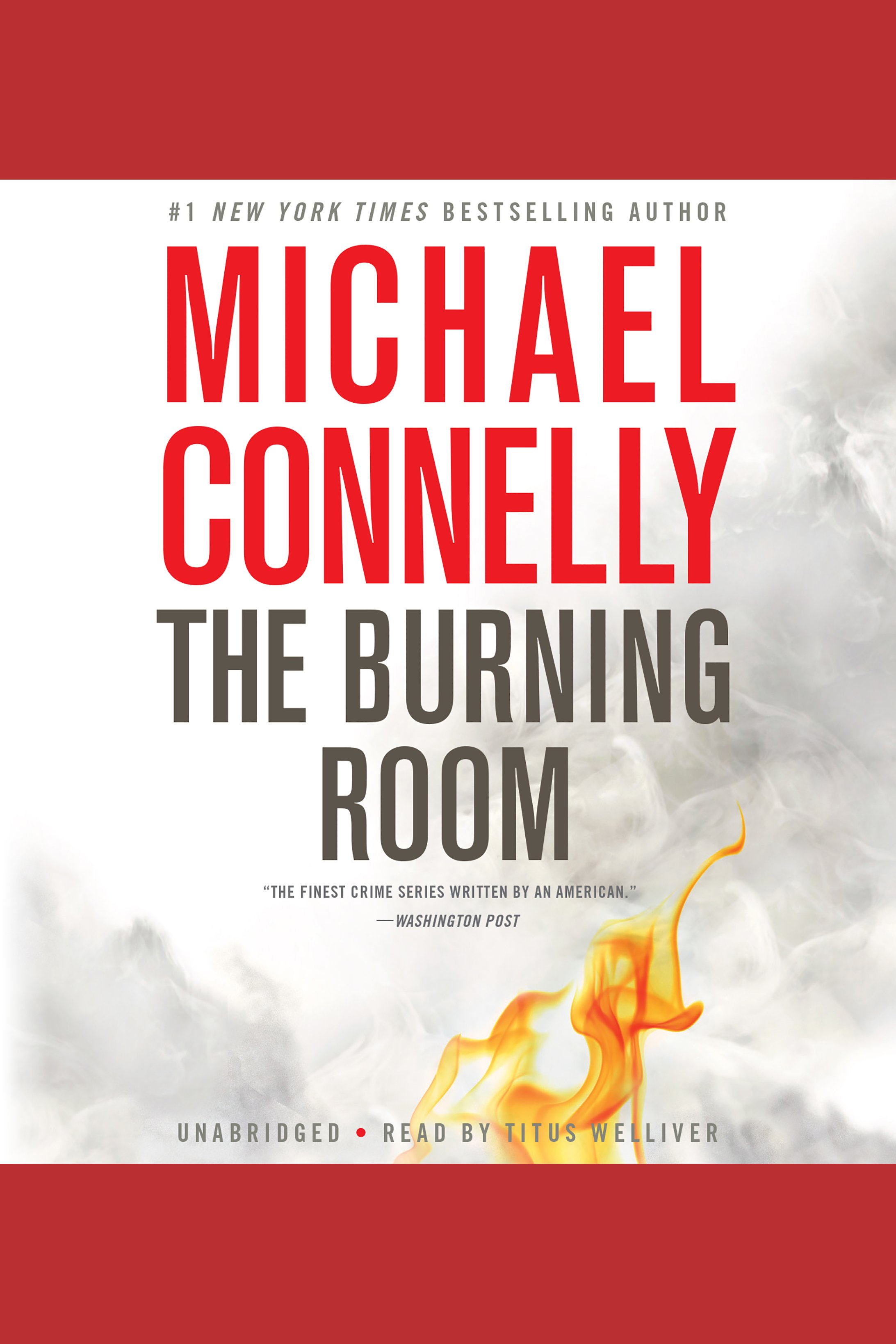The burning room cover image