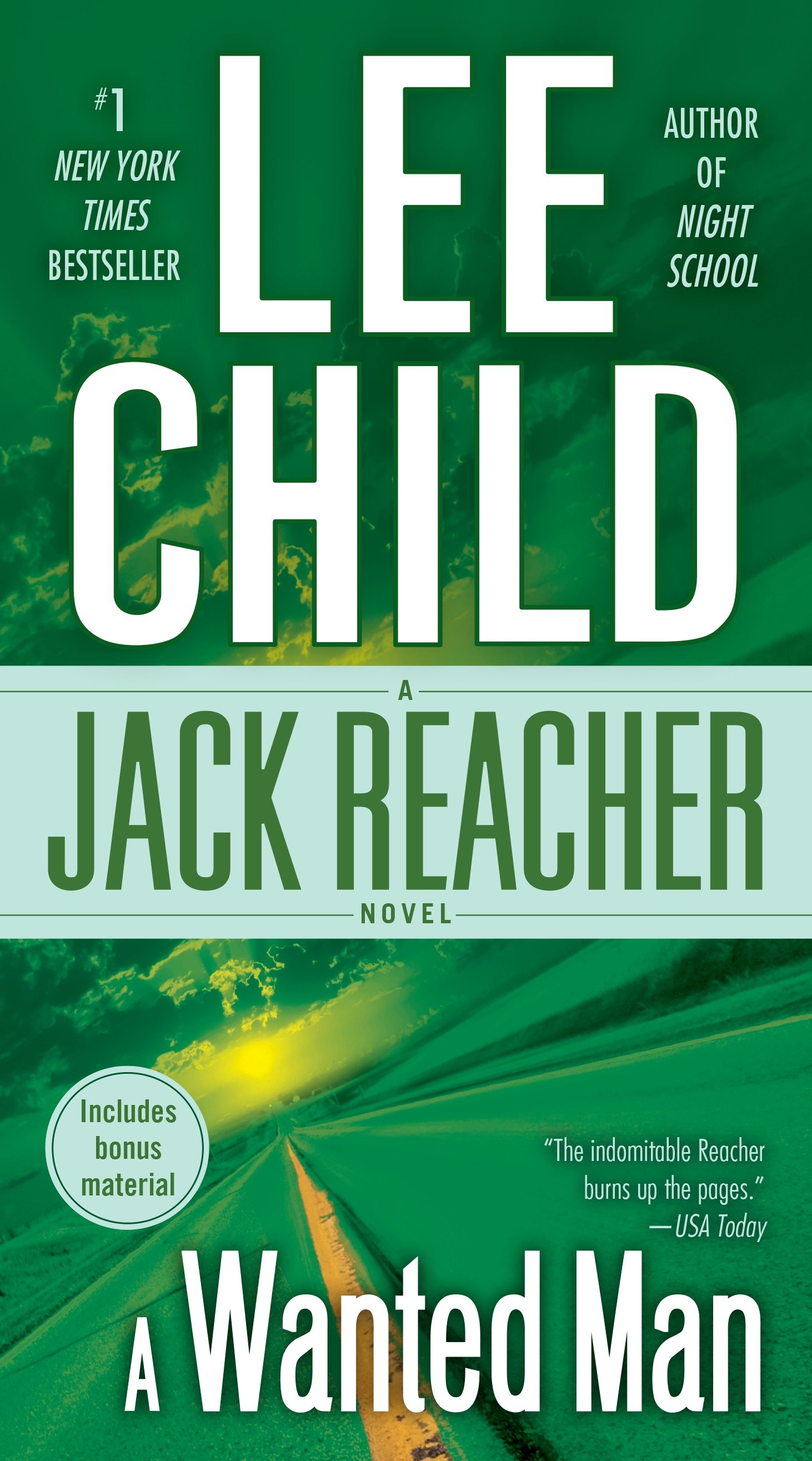 A wanted man a Jack Reacher novel
