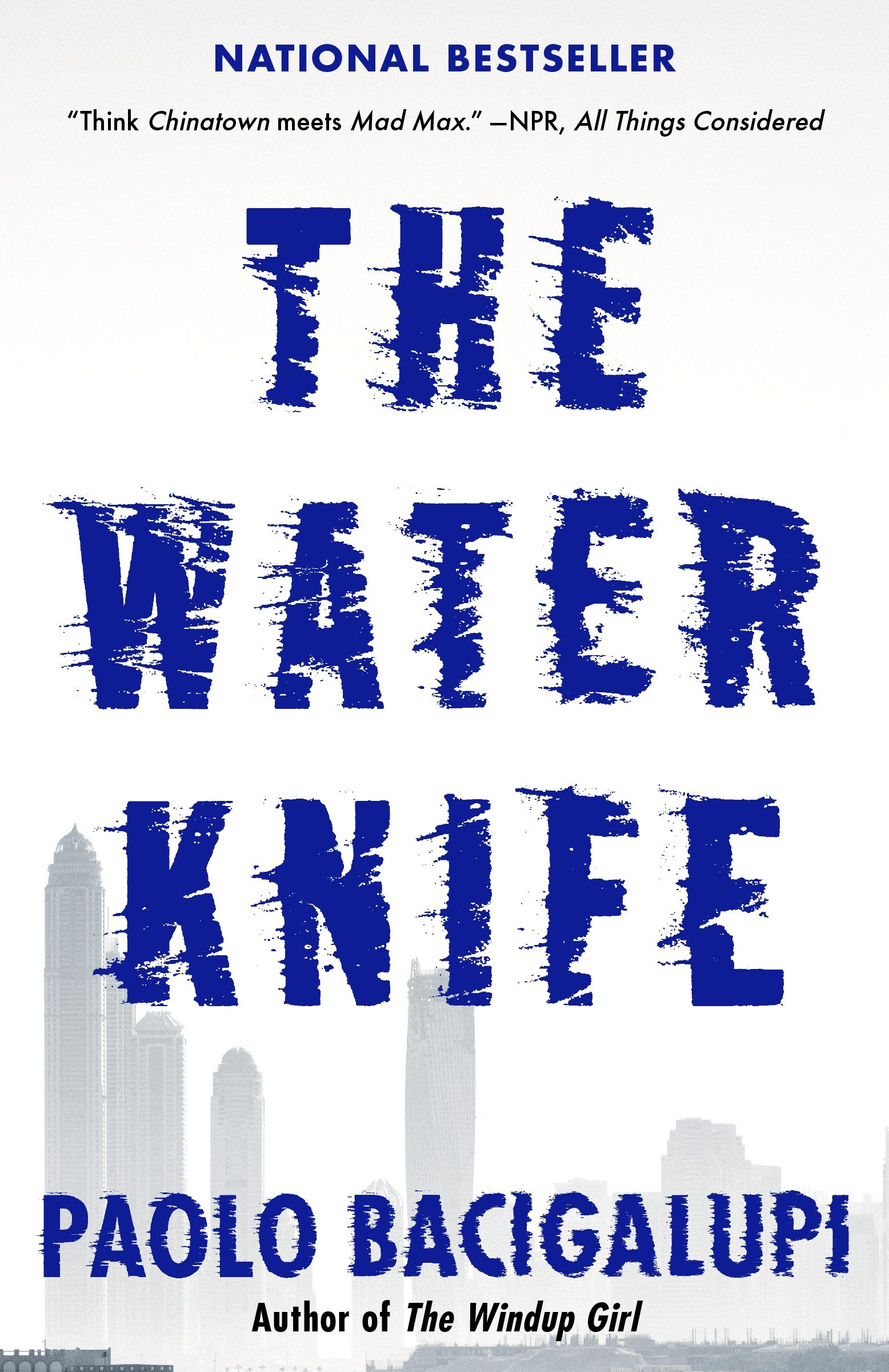 The water knife cover image