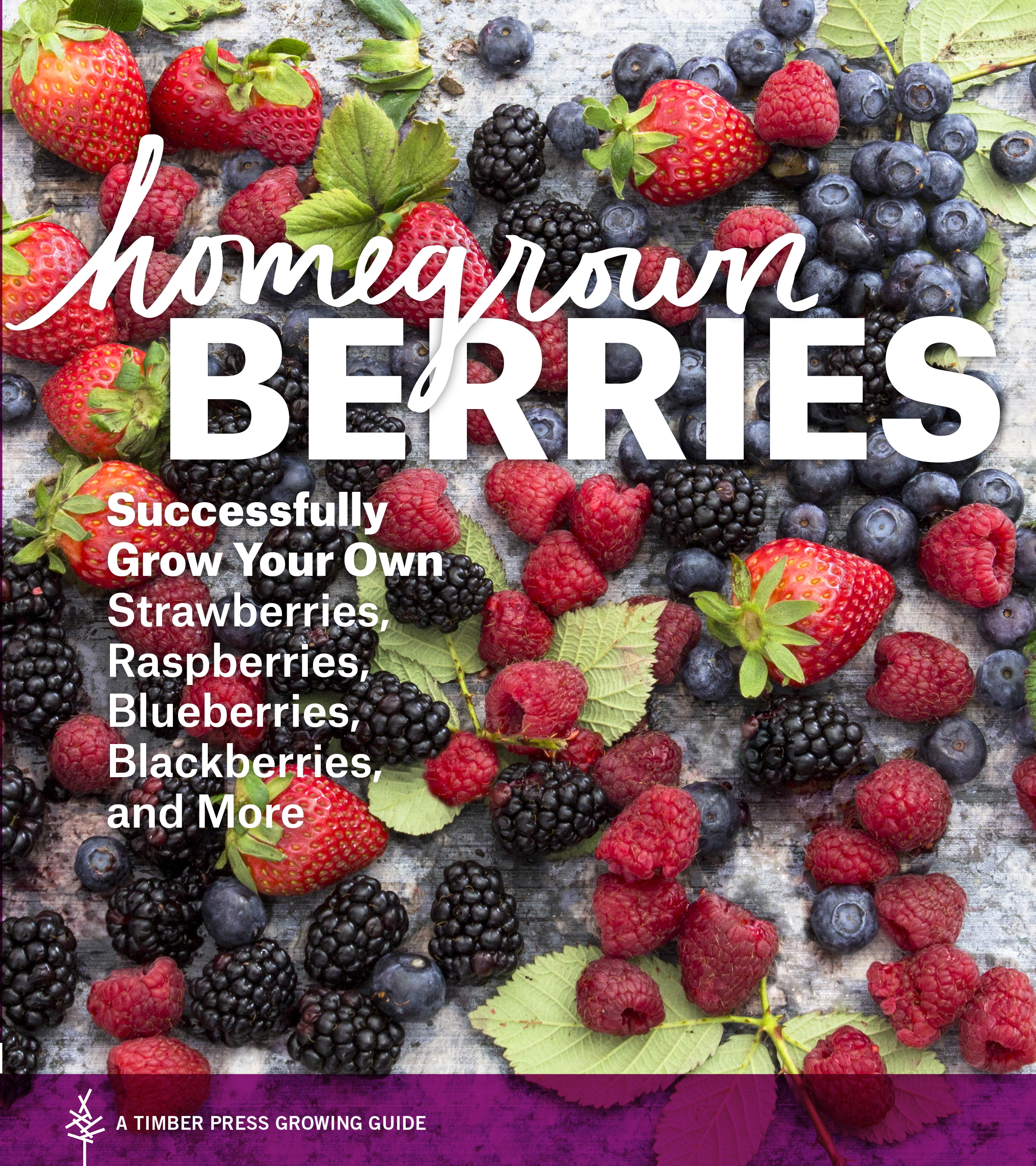 Homegrown Berries Successfully Grow Your Own Strawberries, Raspberries, Blueberries, Blackberries, and More
