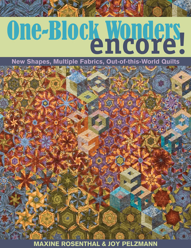 One Block Wonders Encore New Shapes, Multiple Fabrics, Out-of-this-World Quilts