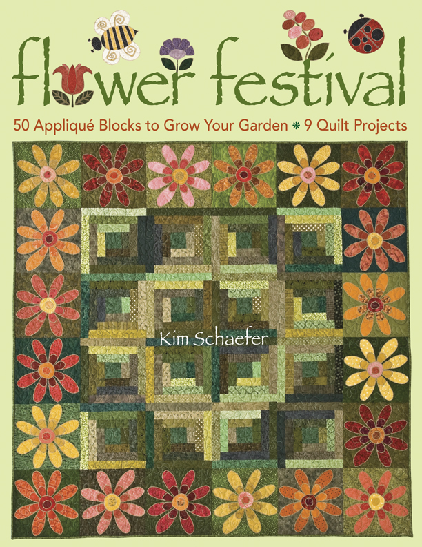 Flower Festival 50 Applique Blocks to Grow Your Garden - 9 Quilt Projects