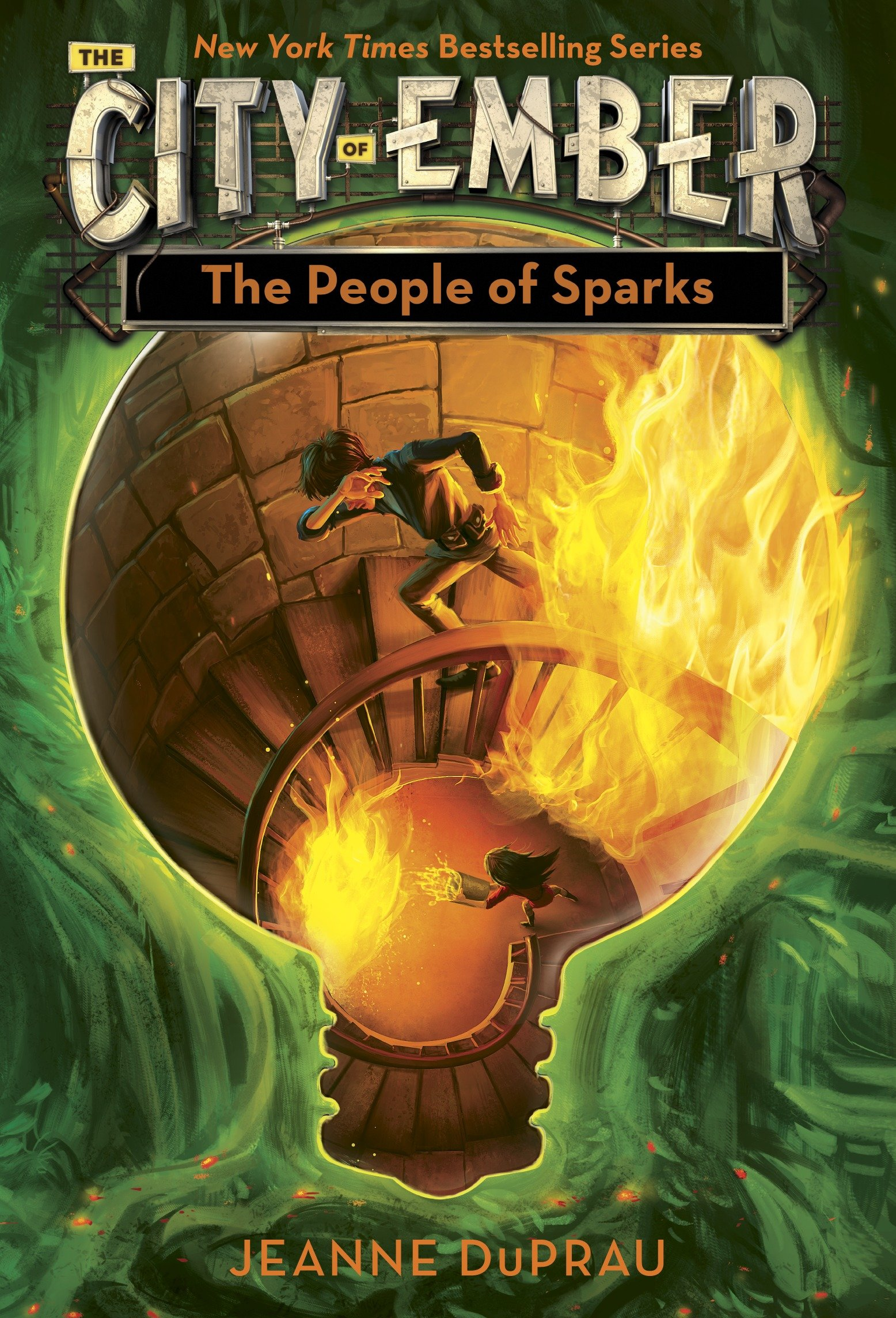 The people of Sparks the second book of Ember cover image