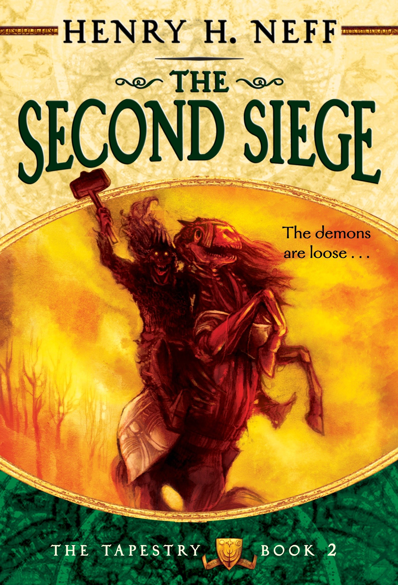 The second siege book two of the tapestry cover image