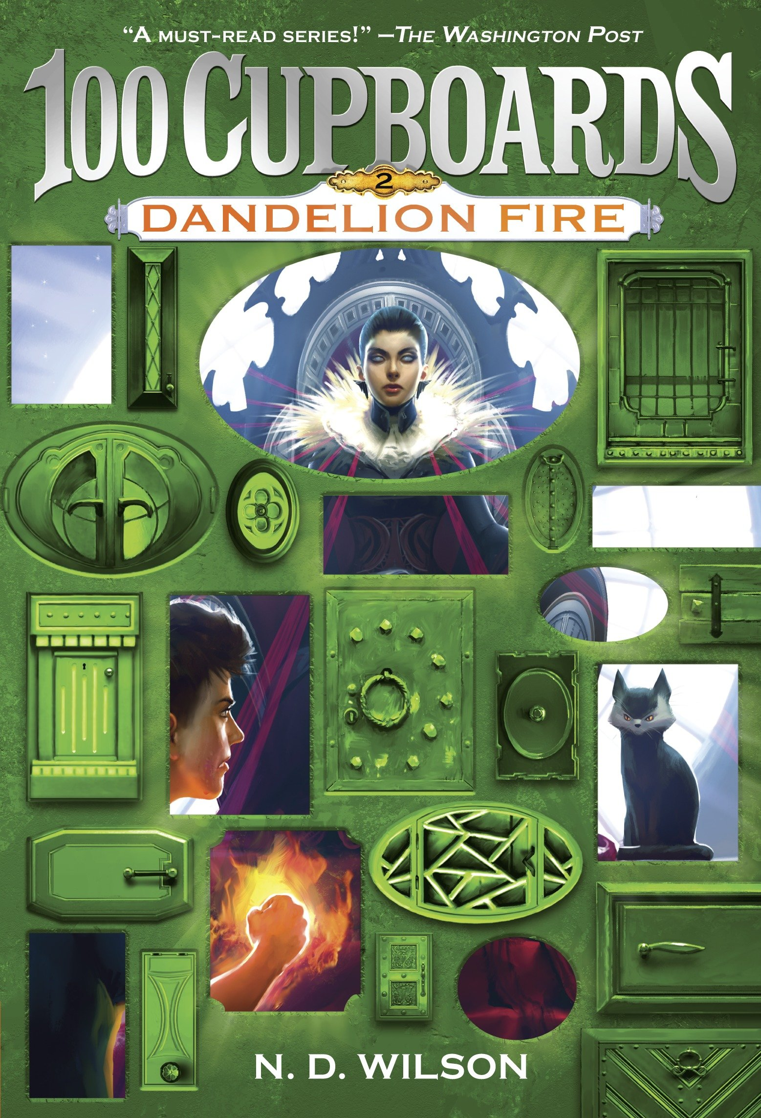 Dandelion fire book 2 of the 100 cupboards cover image