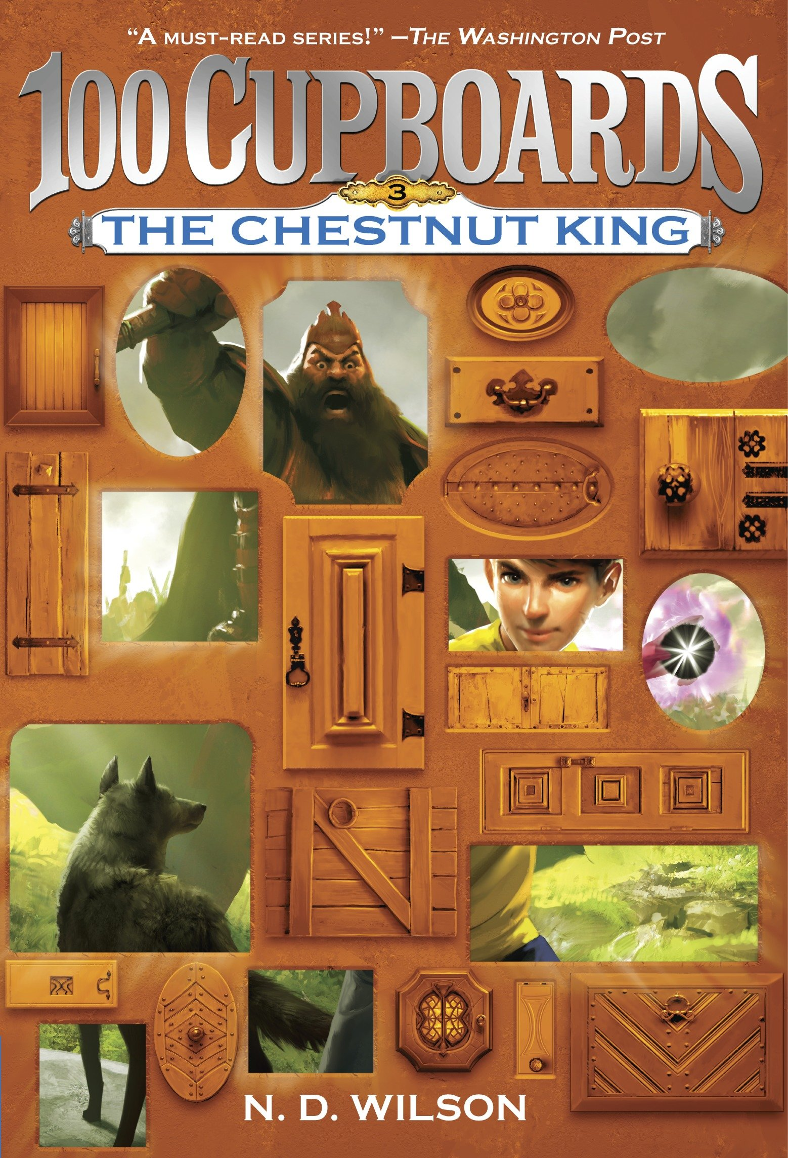 The Chestnut King book 3 of the 100 cupboards cover image