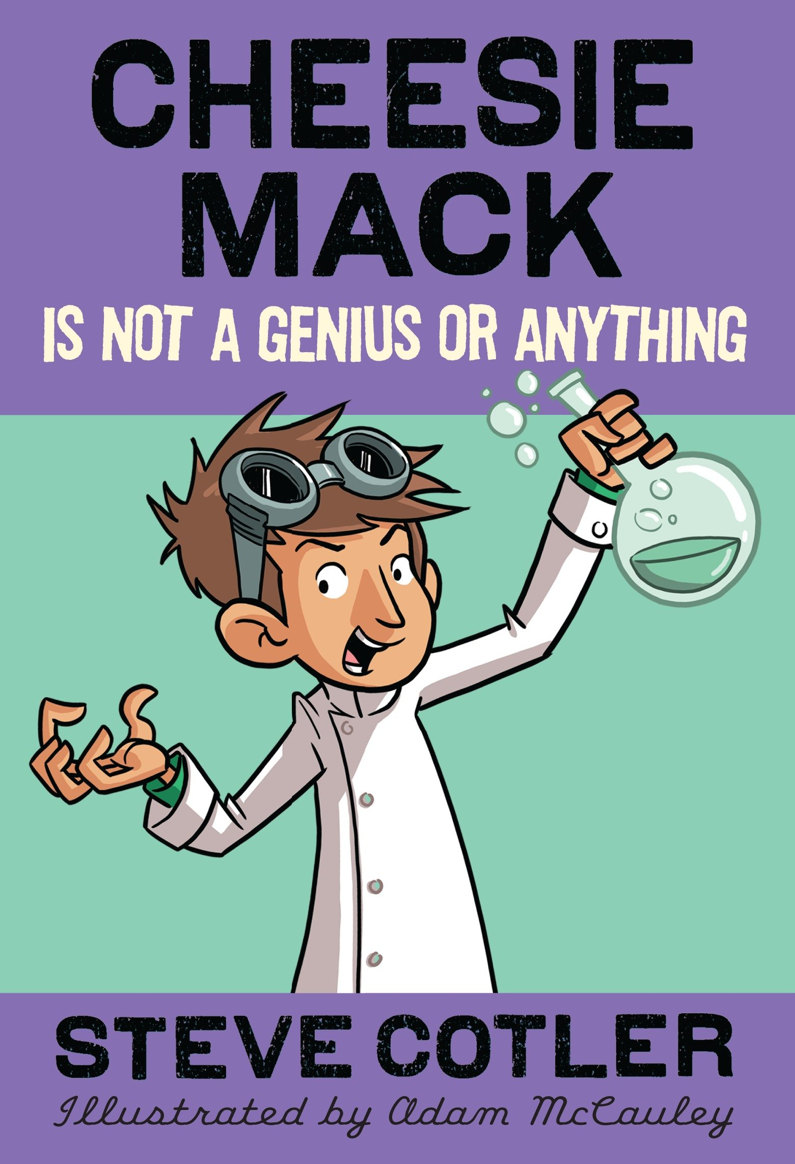 Cheesie Mack is not a genius or anything cover image
