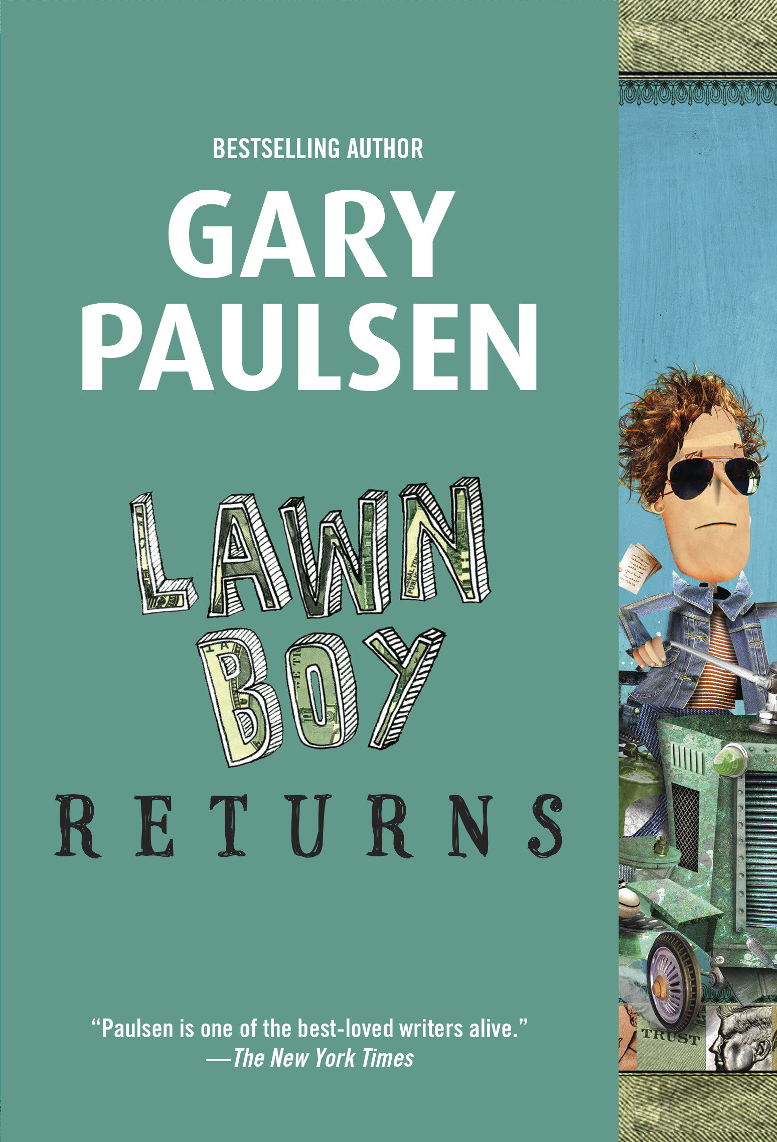Lawn boy returns cover image