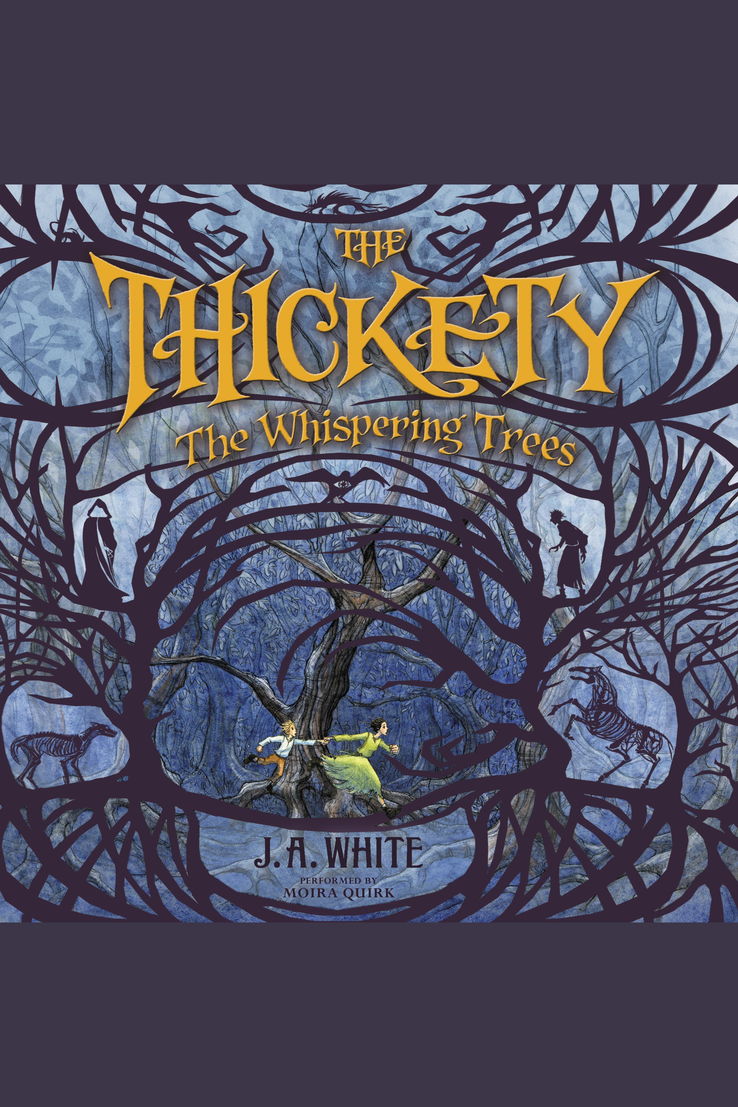The whispering trees cover image