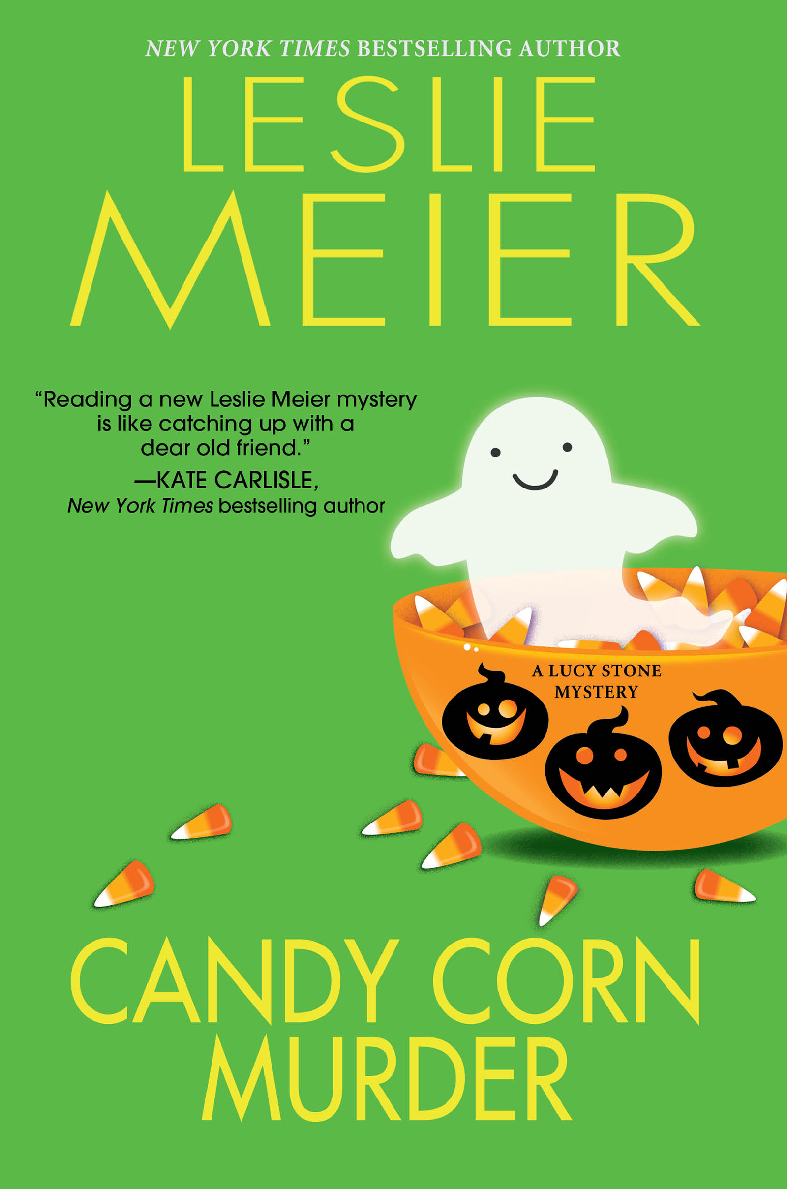 Candy corn murder a Lucy Stone mystery cover image