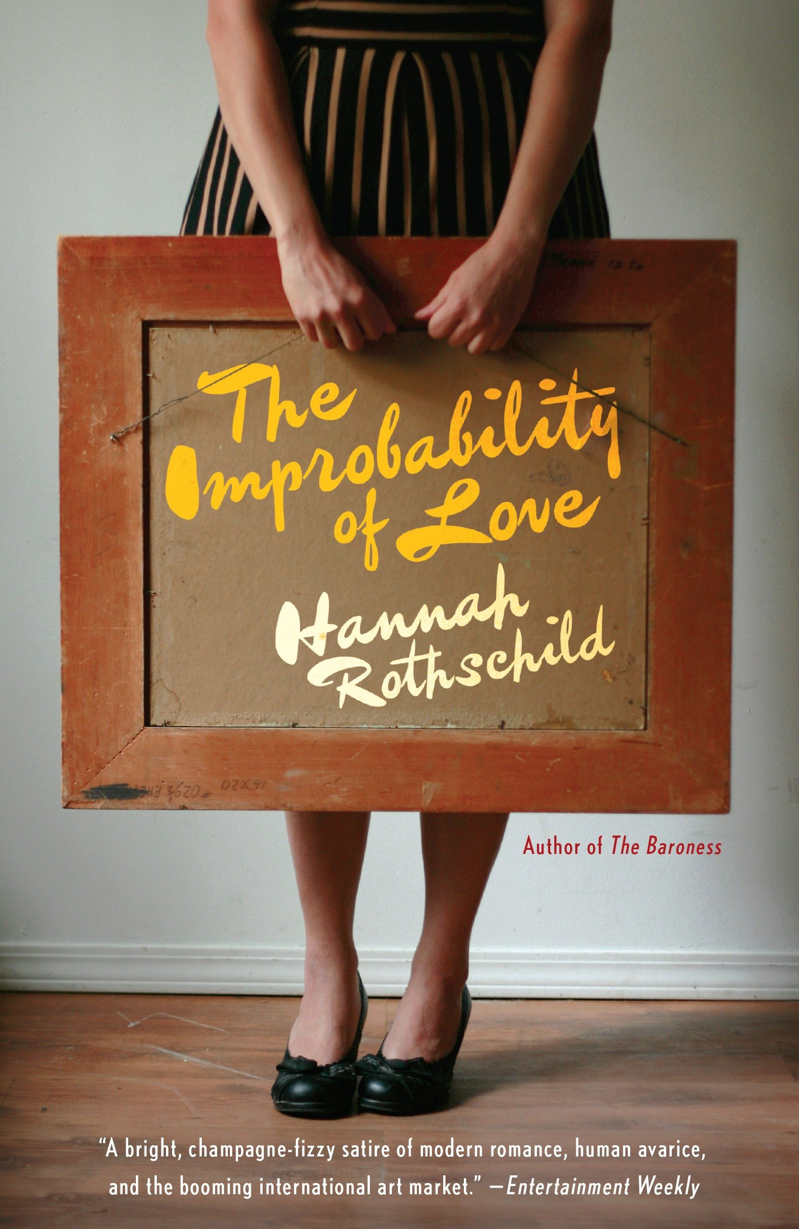 The improbability of love cover image