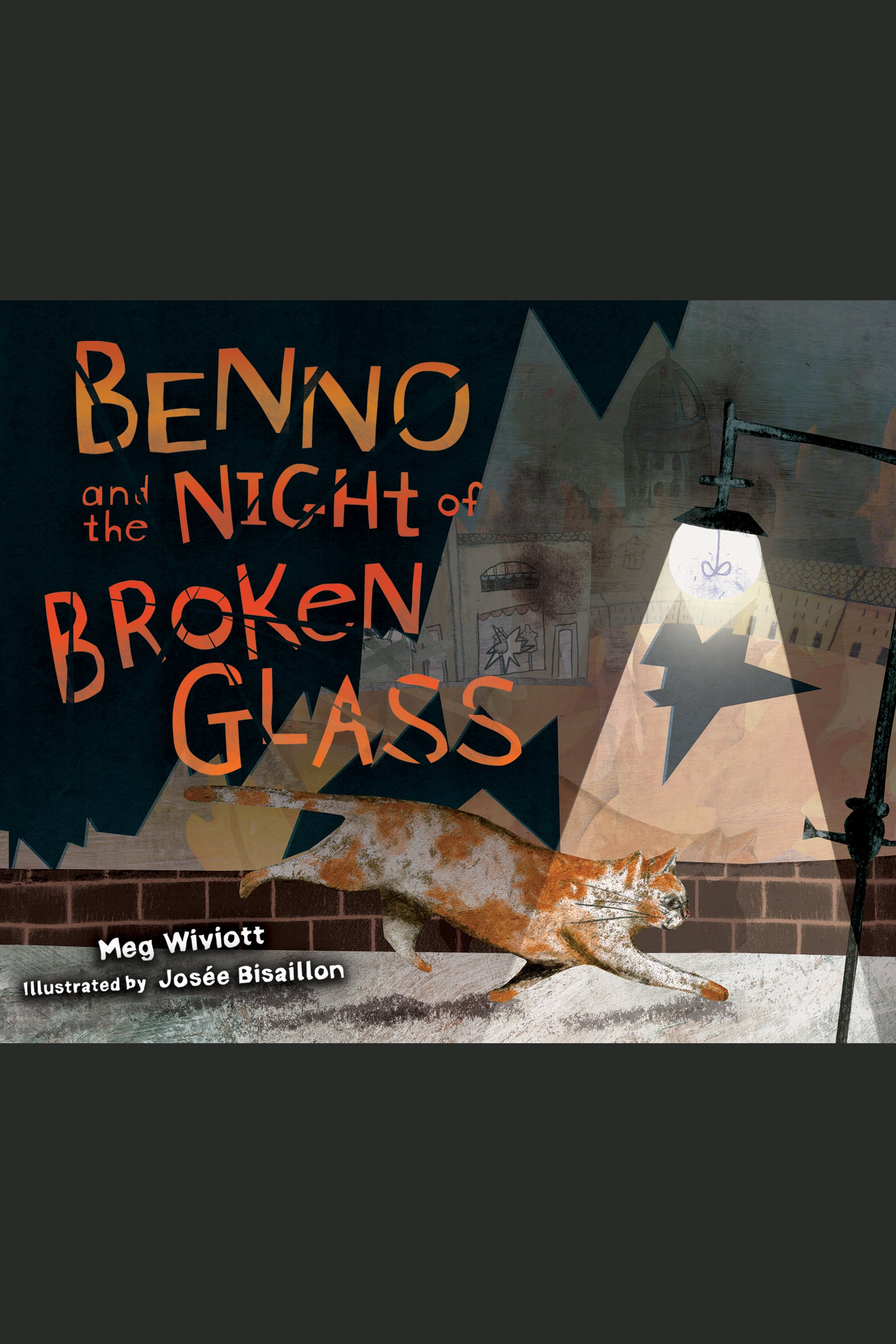 Benno and the night of brokeng glass cover image