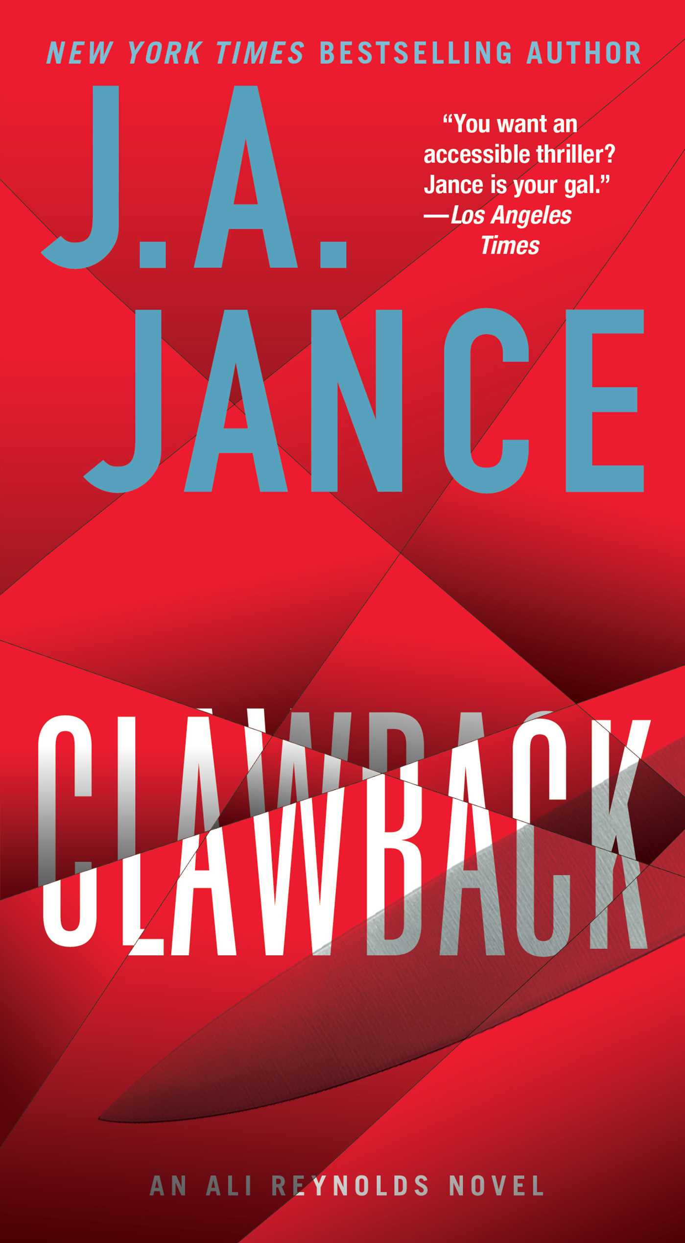 Clawback An Ali Reynolds Novel