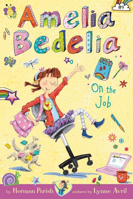 Amelia Bedelia on the job cover image