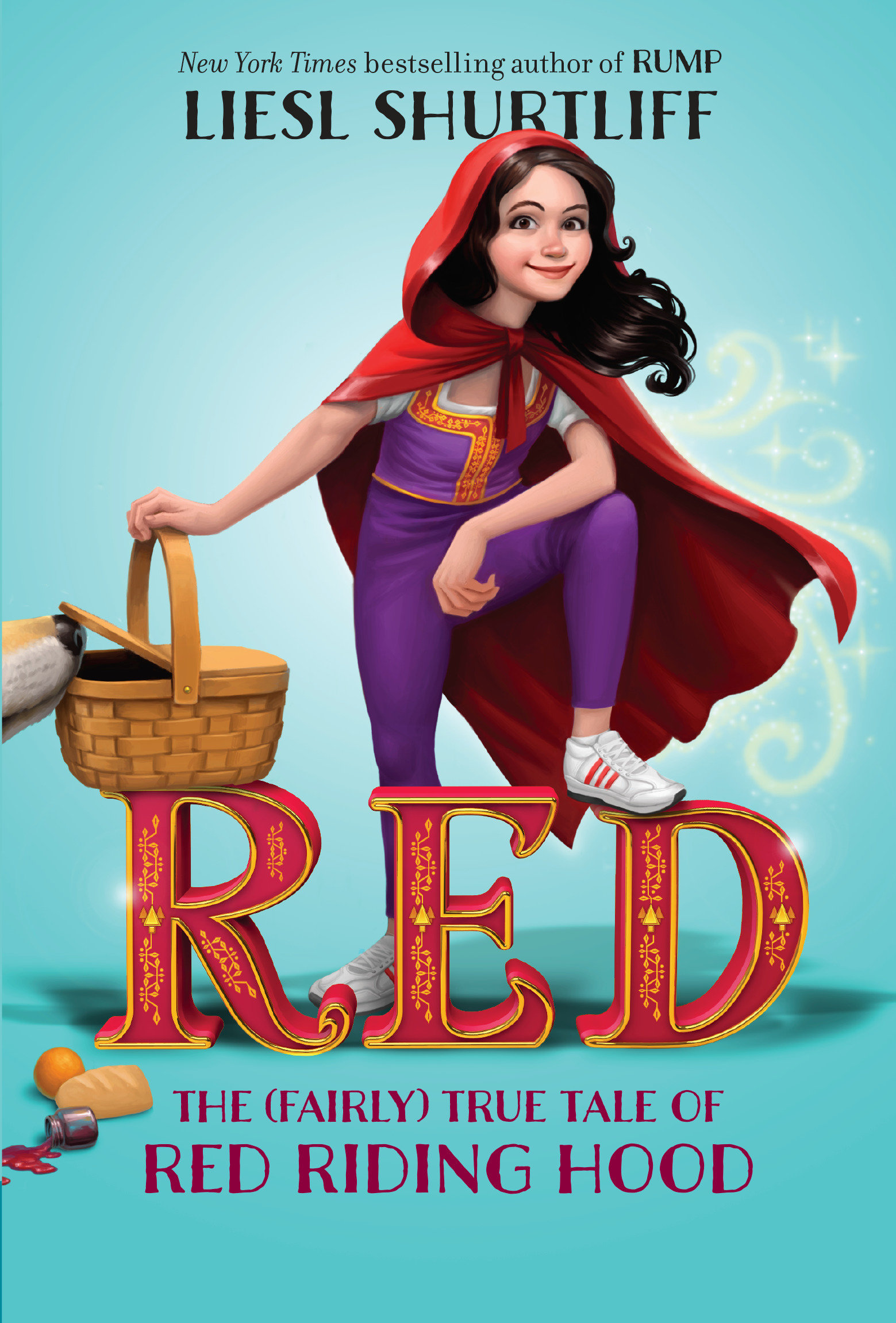 Red the true story of Red Riding Hood cover image