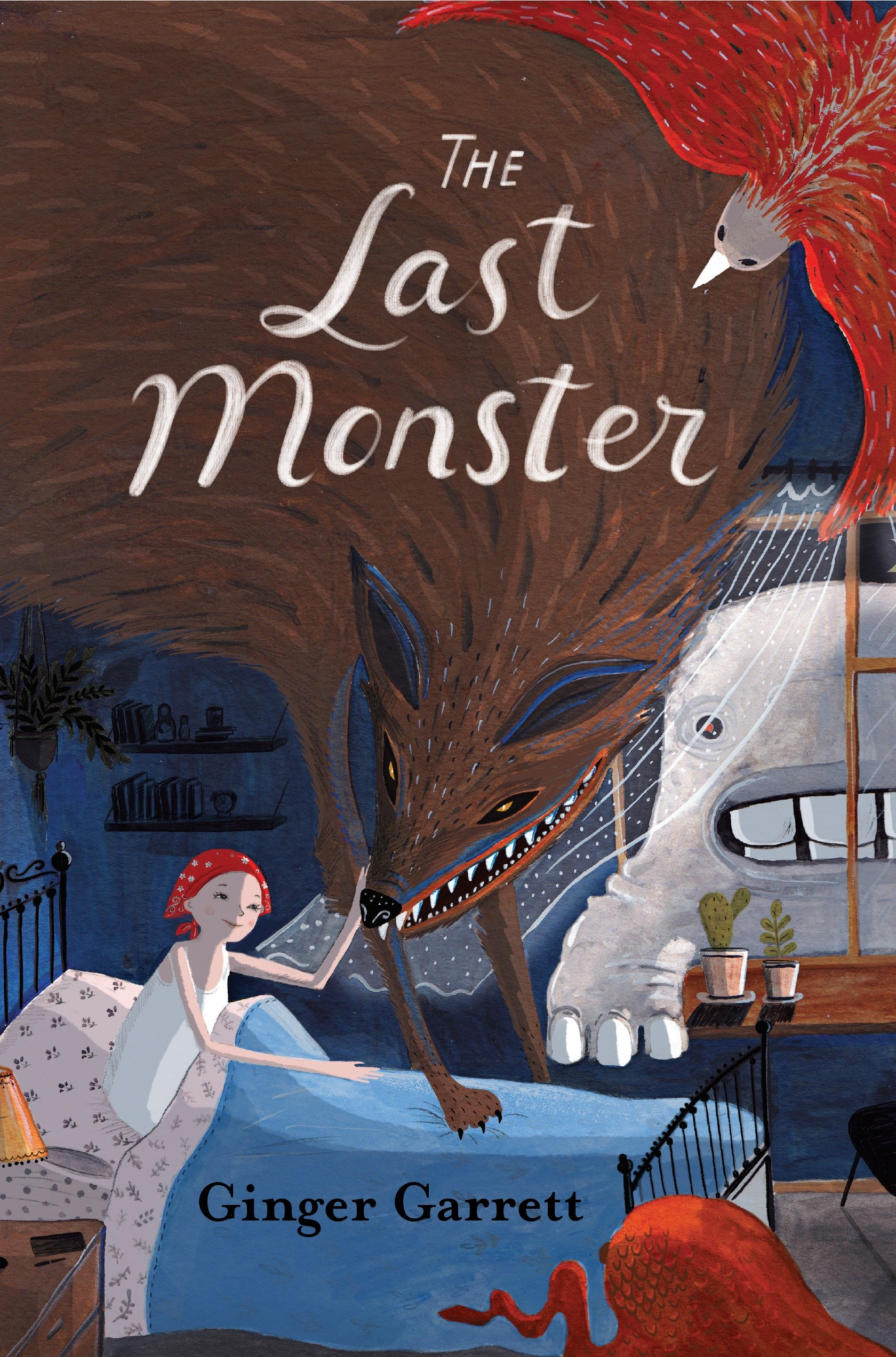 The last monster cover image