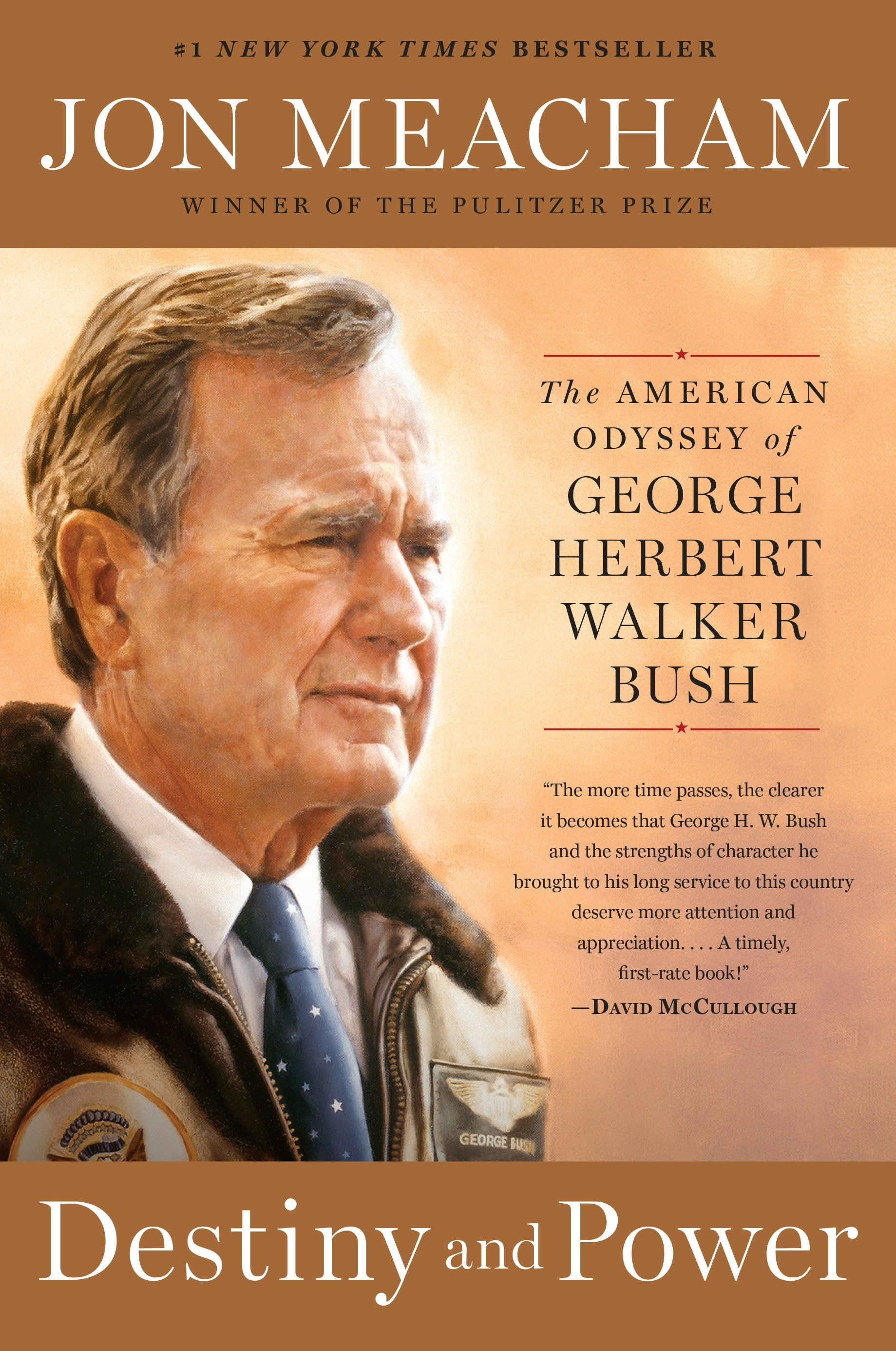 Destiny and power the American odyssey of George Herbert Walker Bush cover image