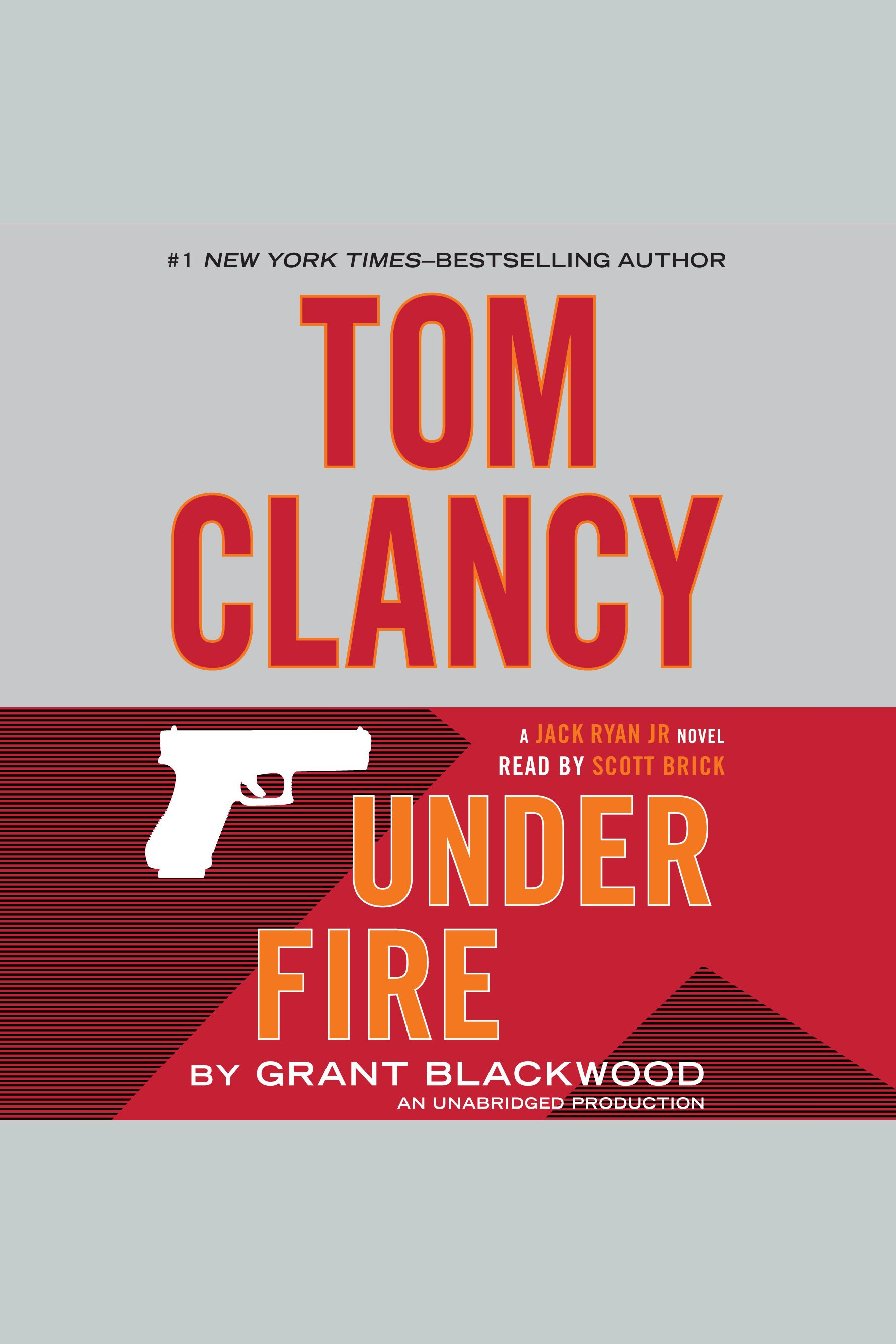Tom Clancy under fire cover image