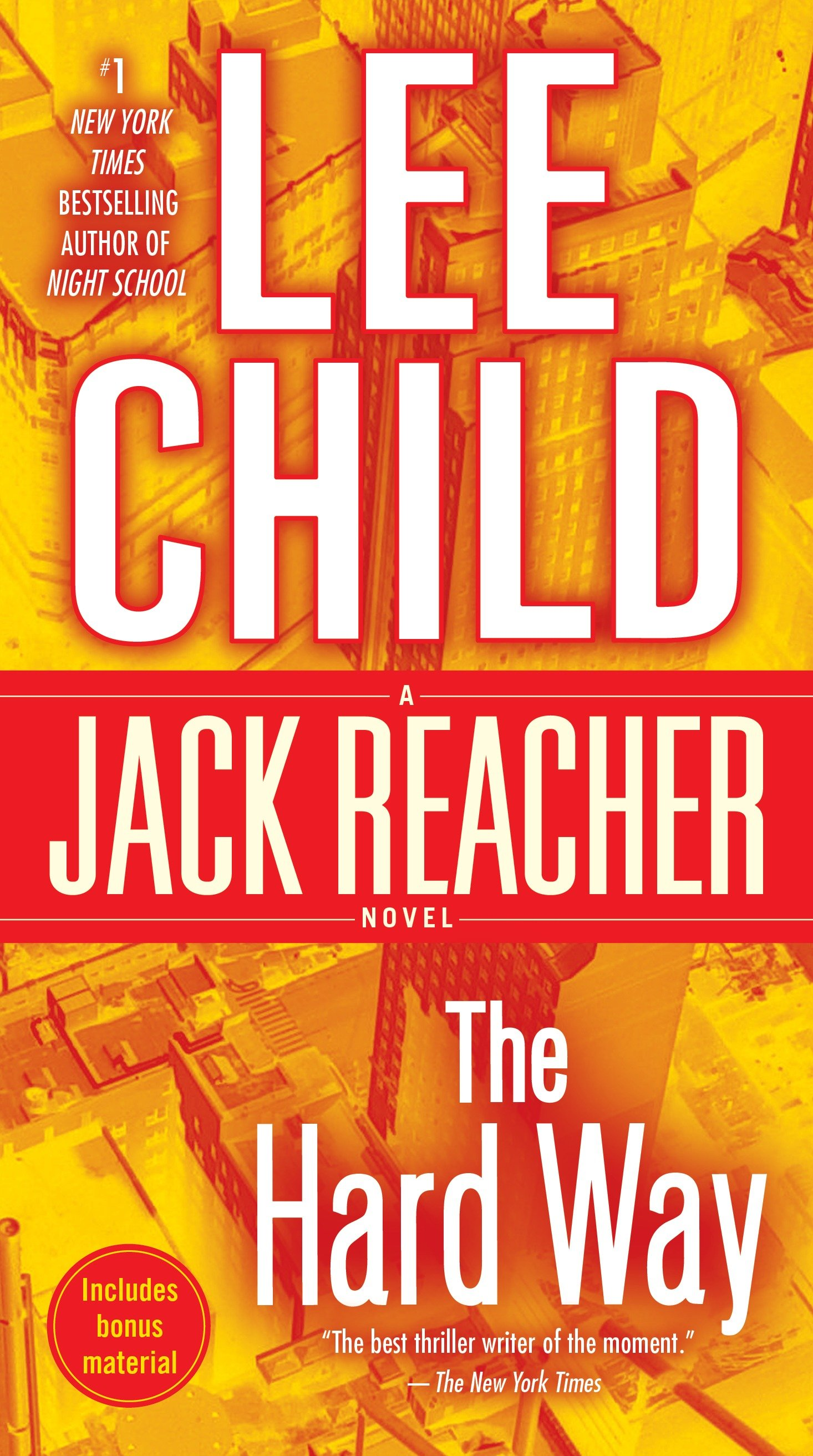 The hard way a Jack Reacher novel