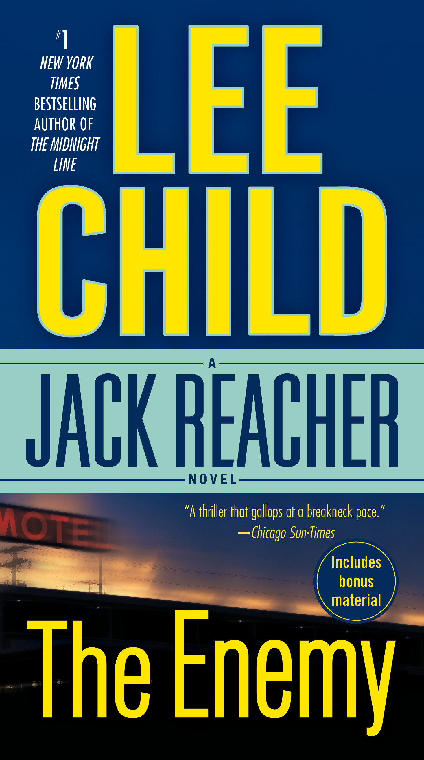 The enemy a Jack Reacher novel