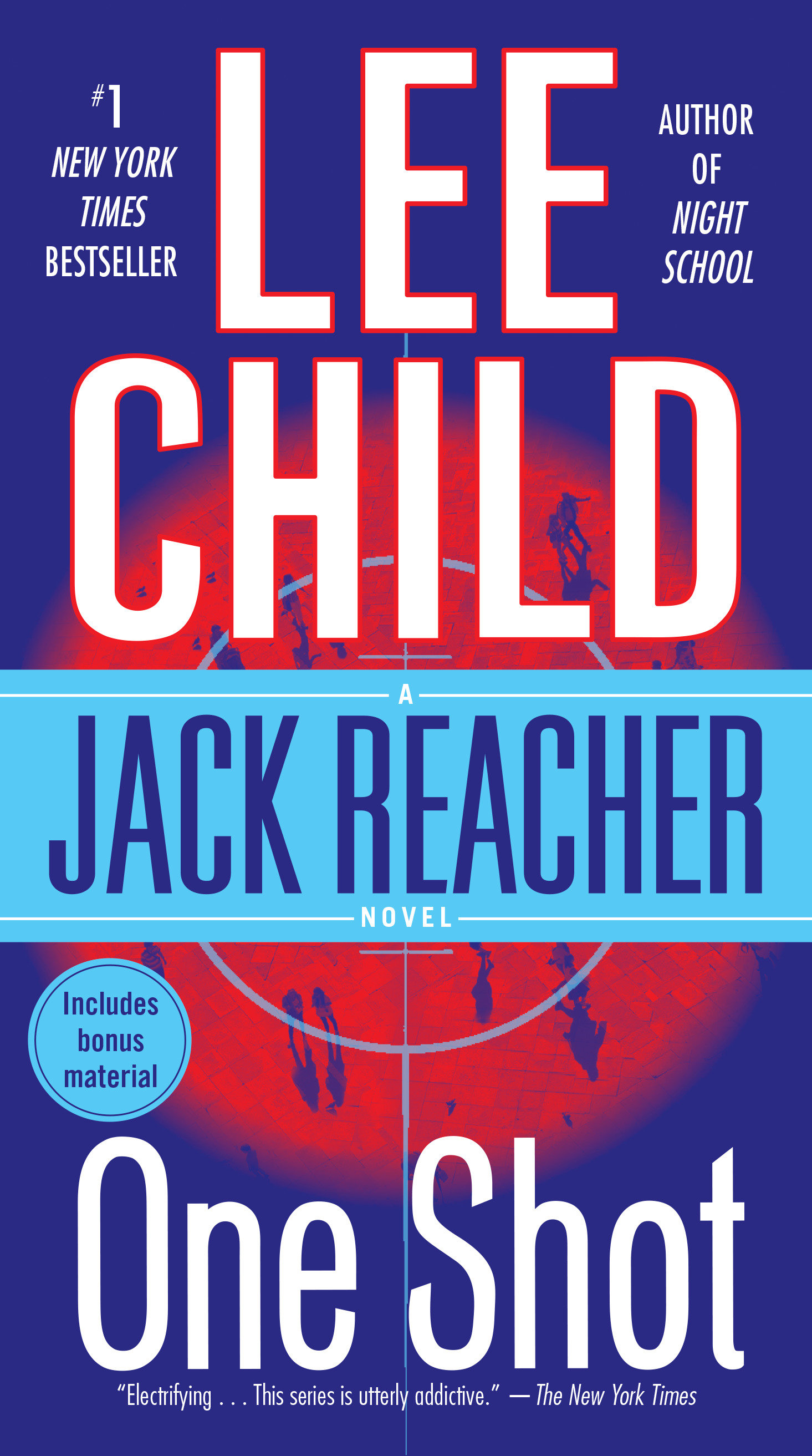 One shot a Jack Reacher novel