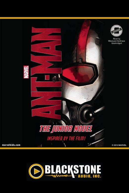 Marvel's Ant-Man the junior novel cover image