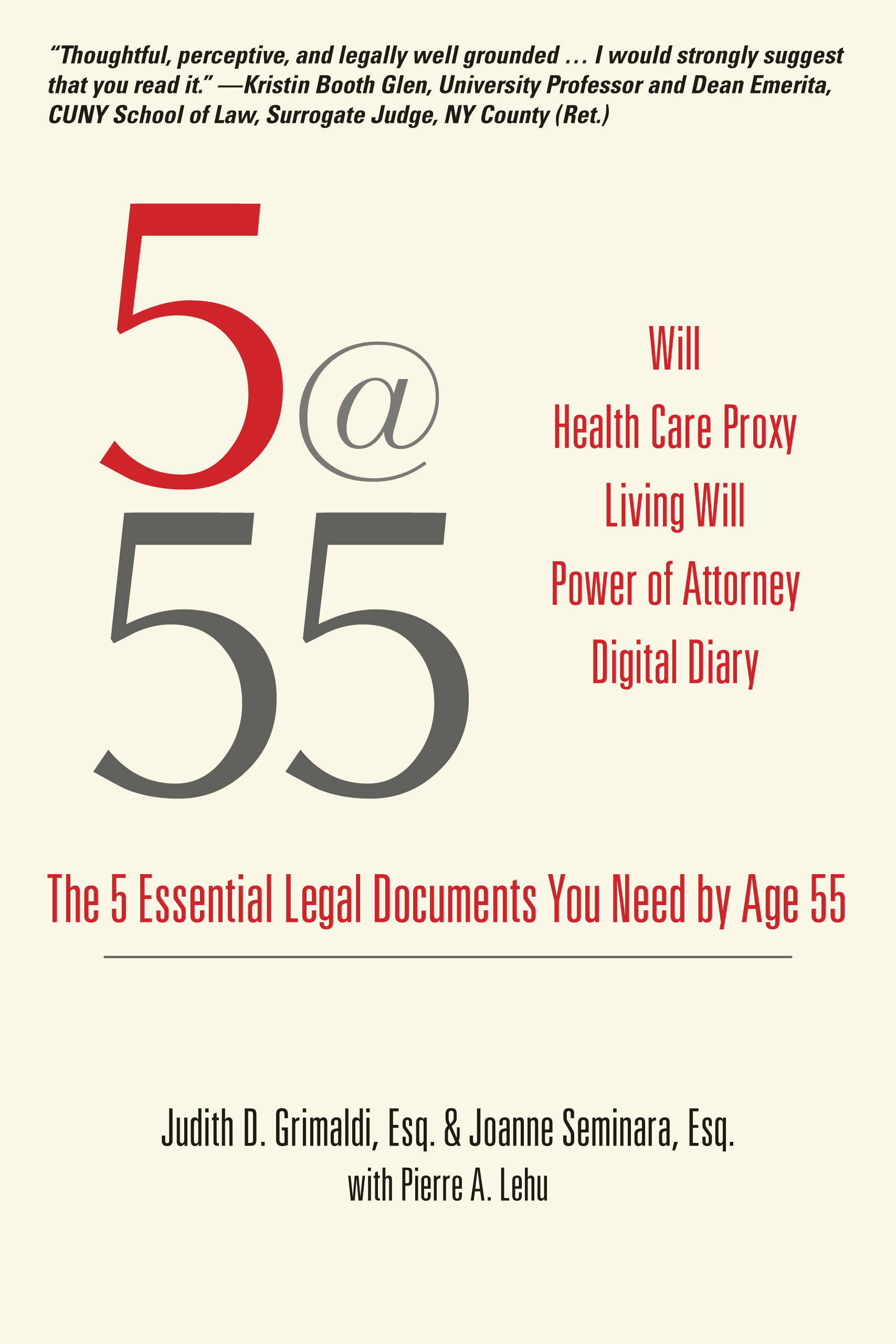 5@55 The 5 Essential Legal Documents You Need by Age 55