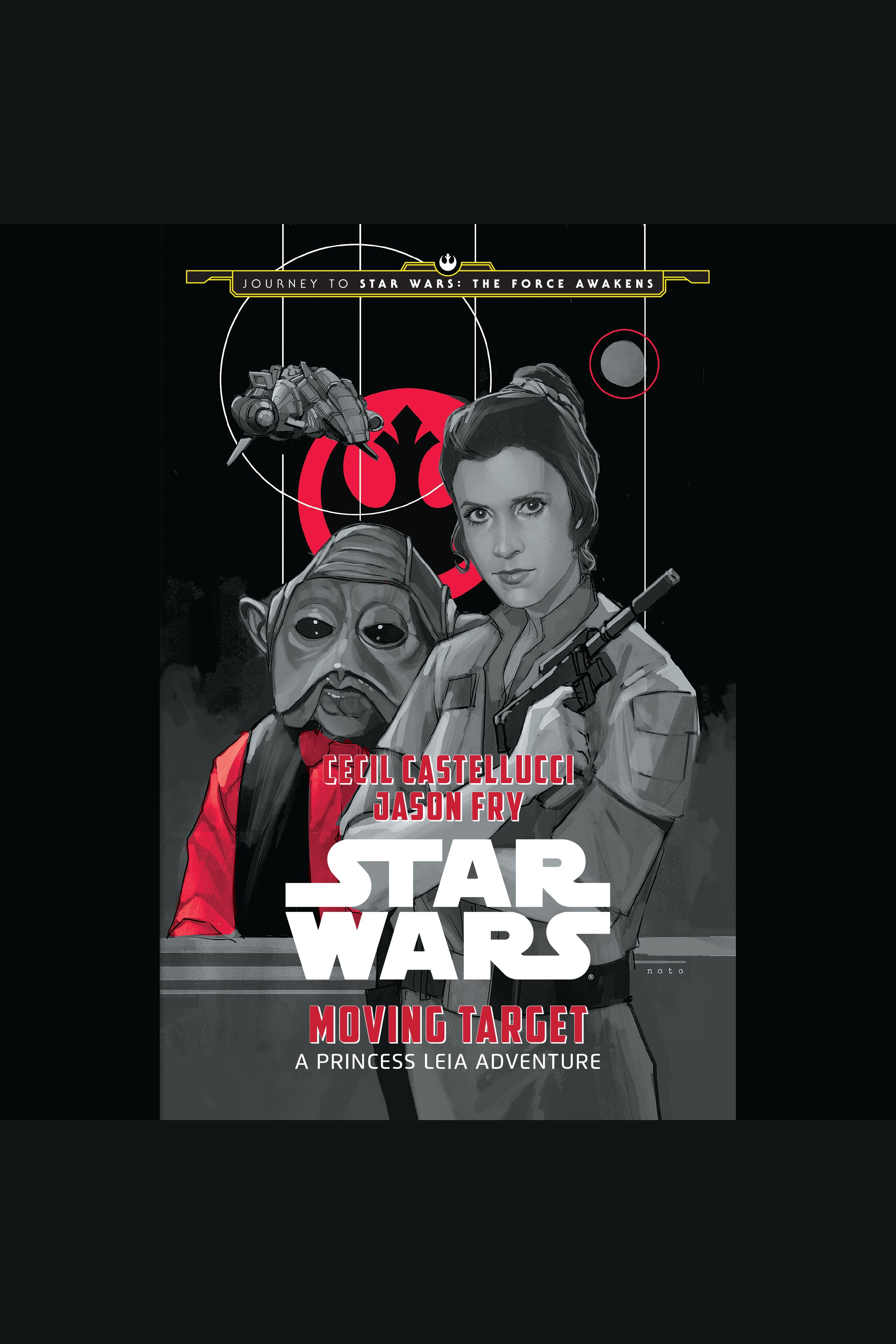 Star Wars moving target a Princess Leia adventure cover image