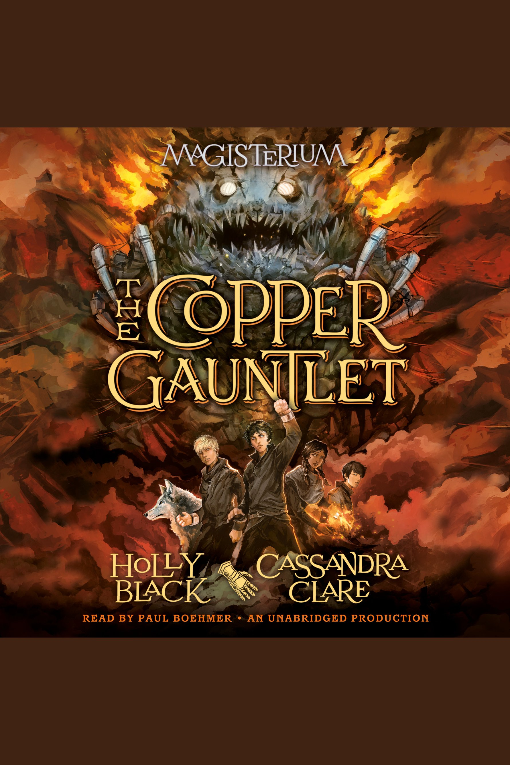 The copper gauntlet cover image