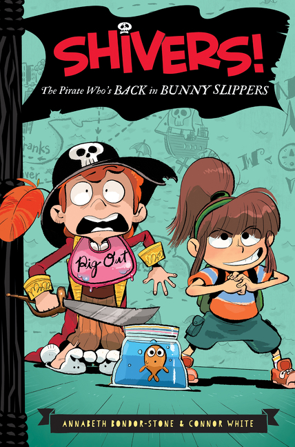 The pirate who's back in bunny slippers cover image