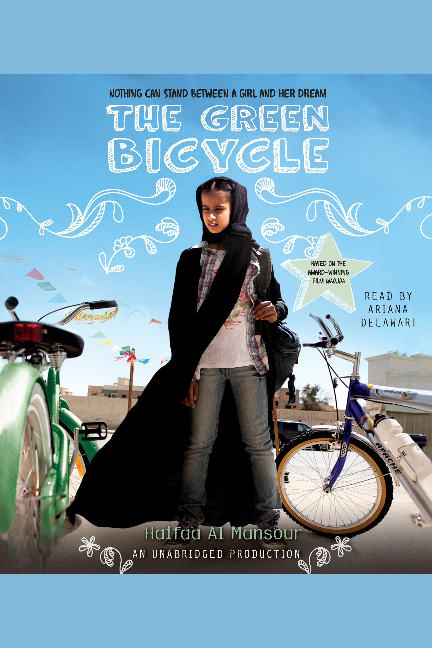 The green bicycle cover image