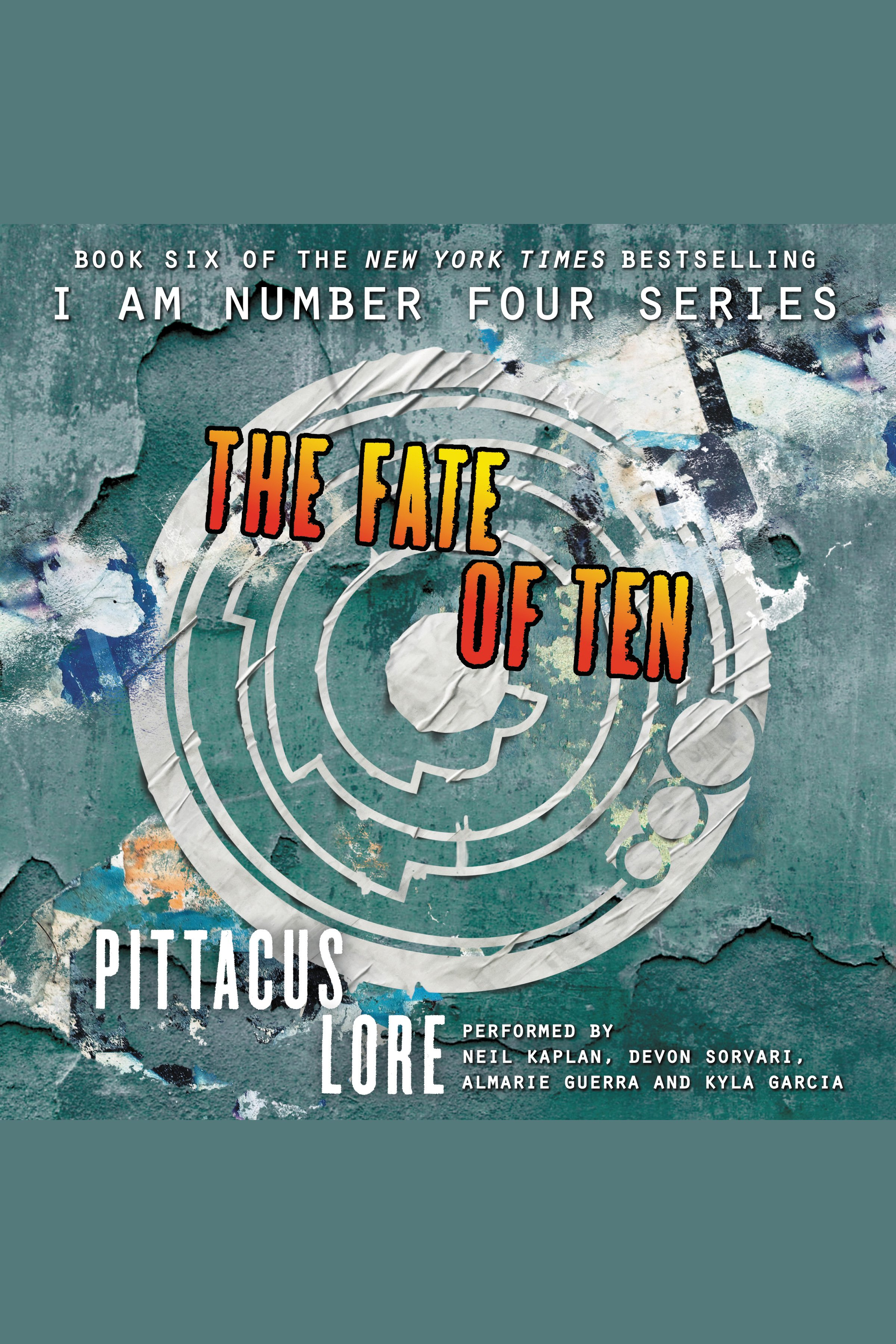 The fate of ten cover image