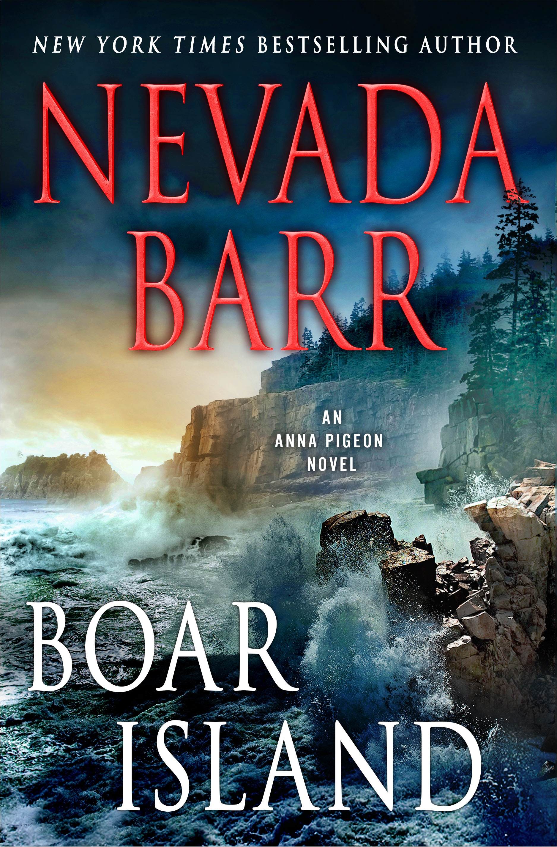 Boar Island An Anna Pigeon Novel