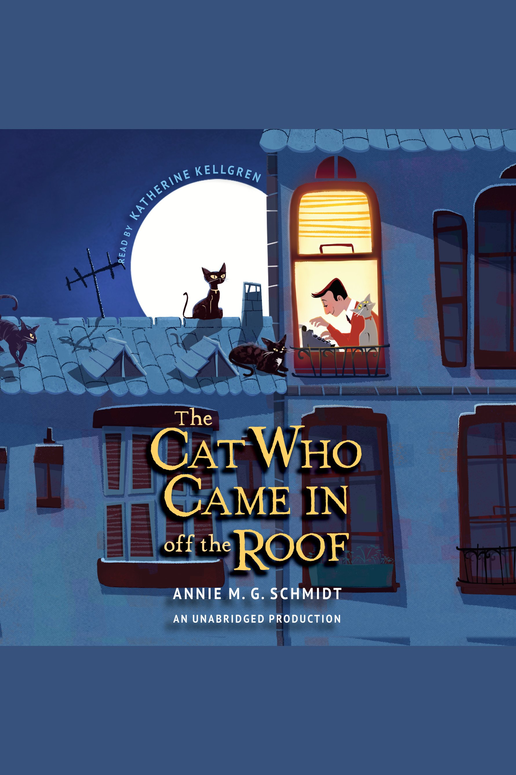 The cat who came in off the roof cover image