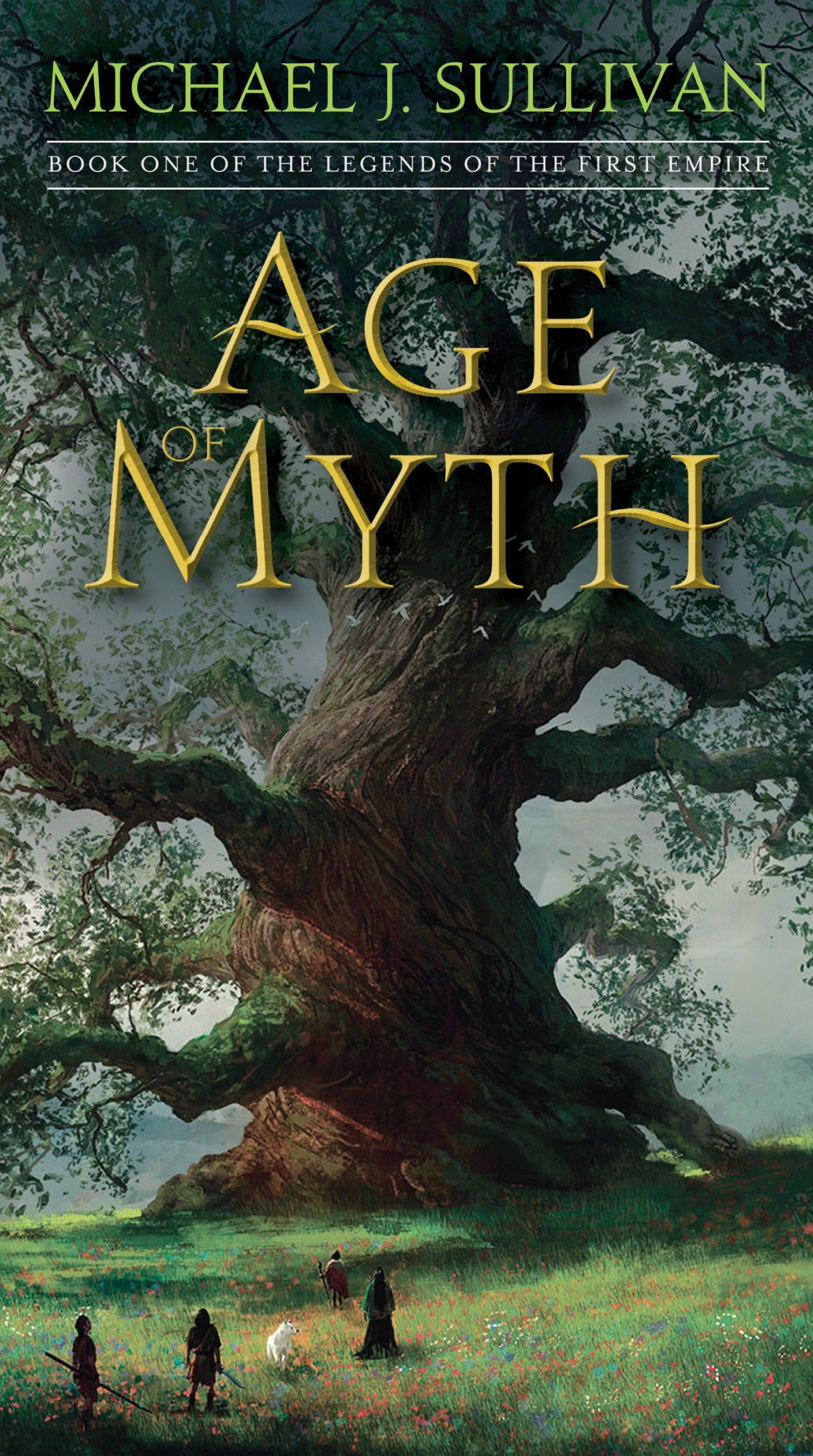 Age of Myth Book One of The Legends of the First Empire