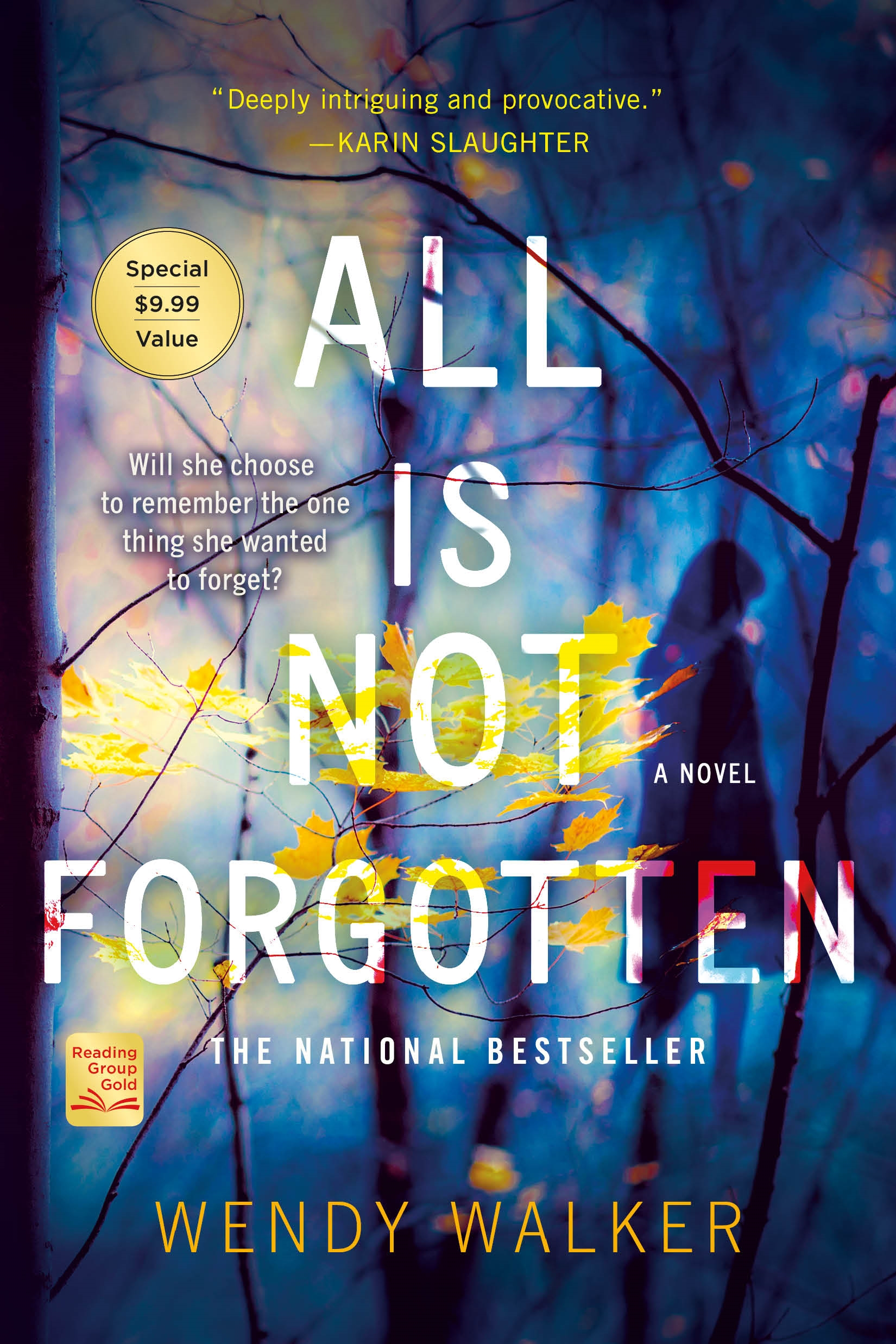 All Is Not Forgotten A Novel