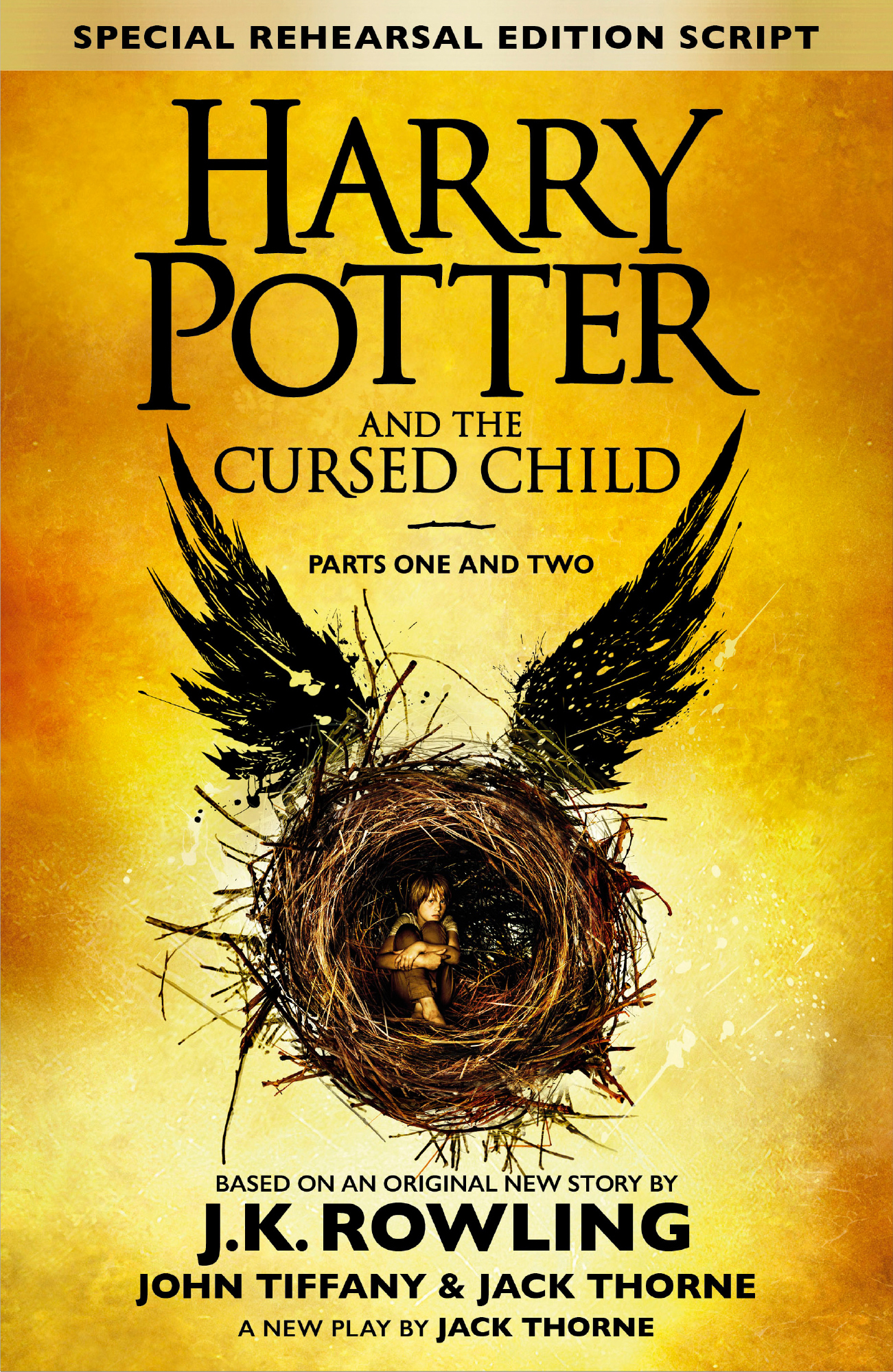 Harry potter and the cursed child – parts one and two (special rehearsal edition) : The Official Script Book of the Original West End Production