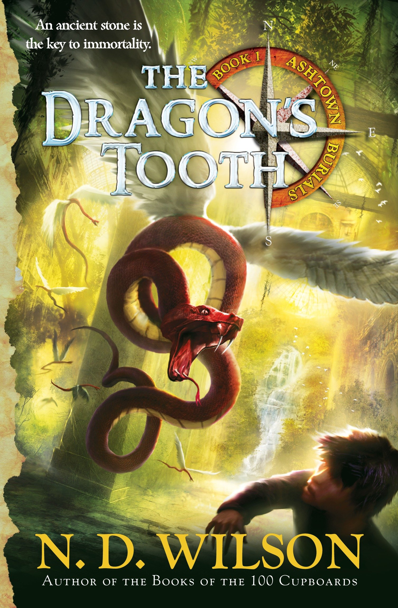 The dragon's tooth cover image