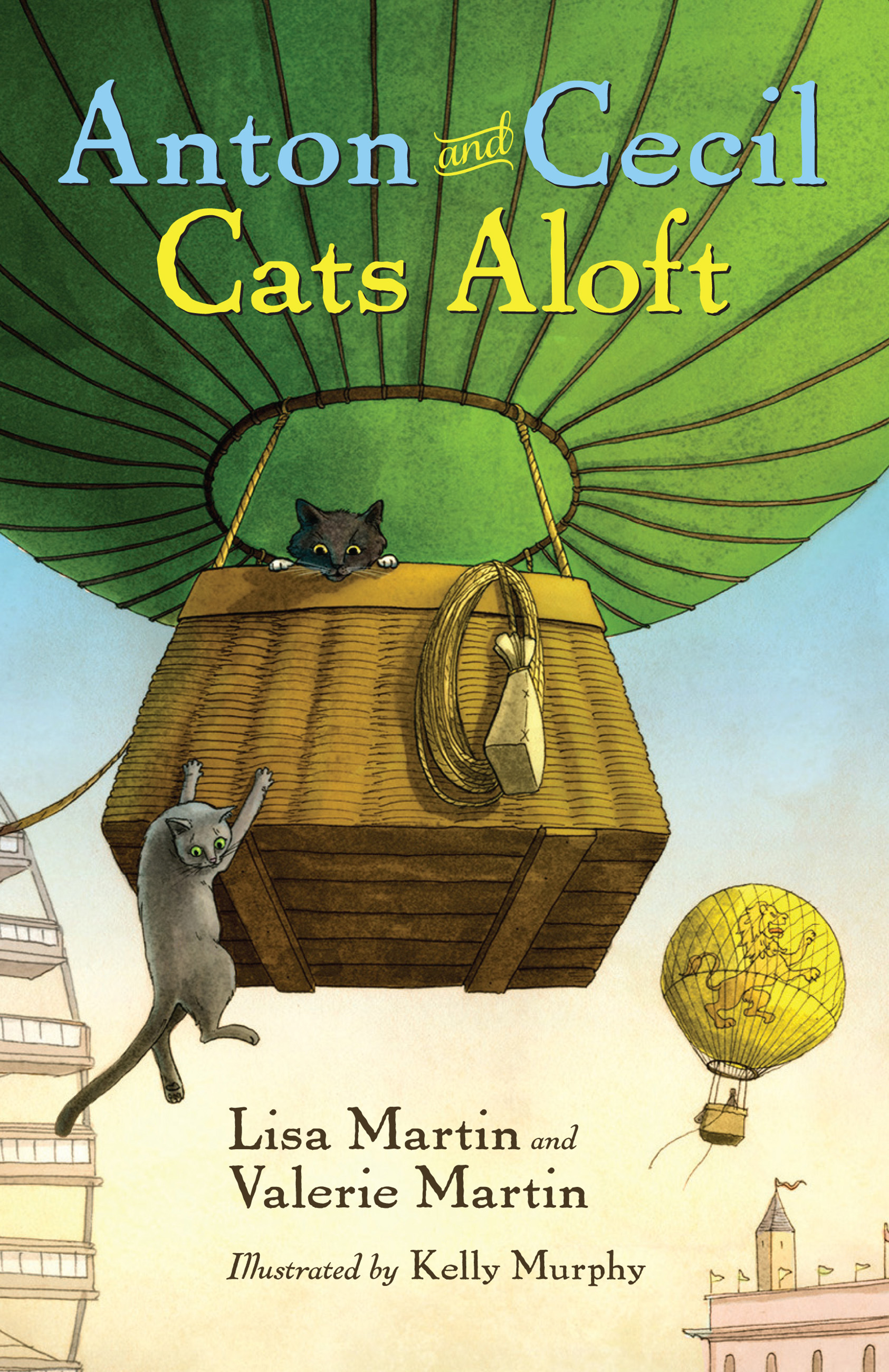 Anton and Cecil, Book 3 Cats Aloft