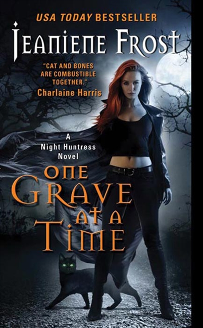One grave at a time A Night Huntress novel cover image