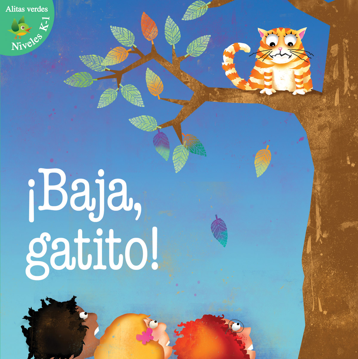 ¡Baja, gatito! (A) (Kitty Come Down!)