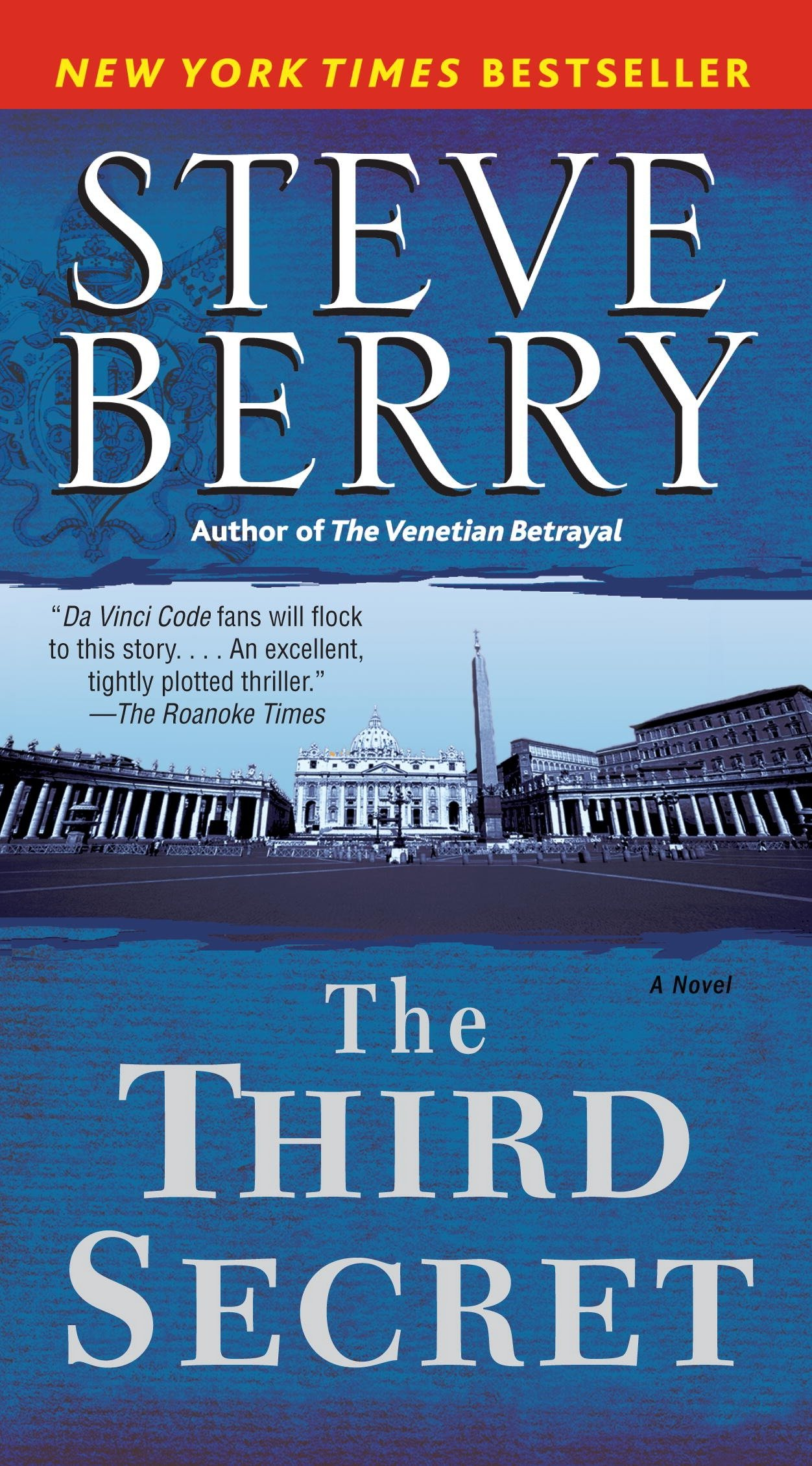 The third secret a novel of suspense cover image