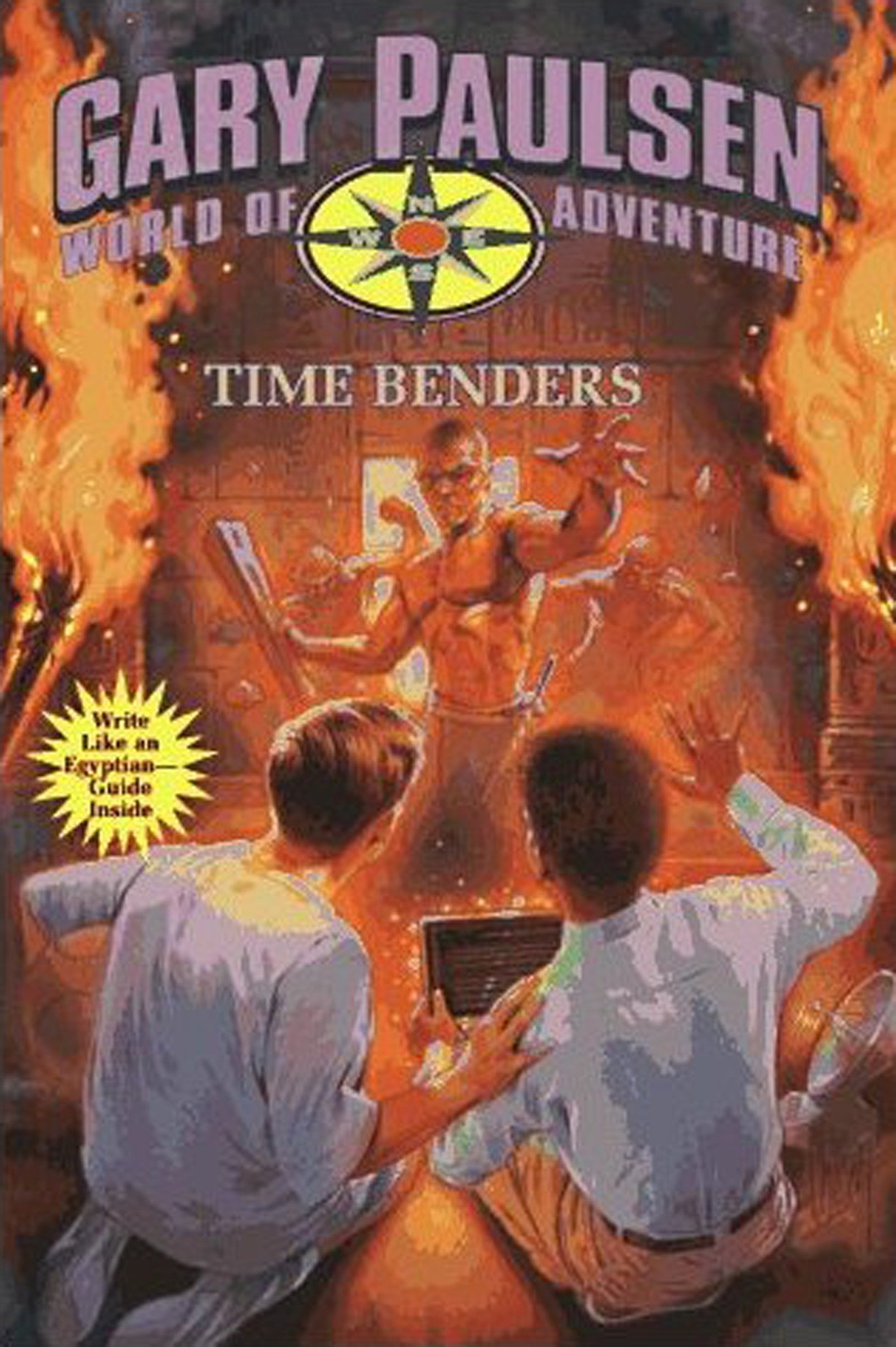 Time benders World of Adventure Series, Book 14 cover image