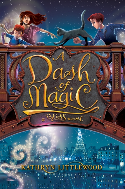 A dash of magic a Bliss novel : cover image
